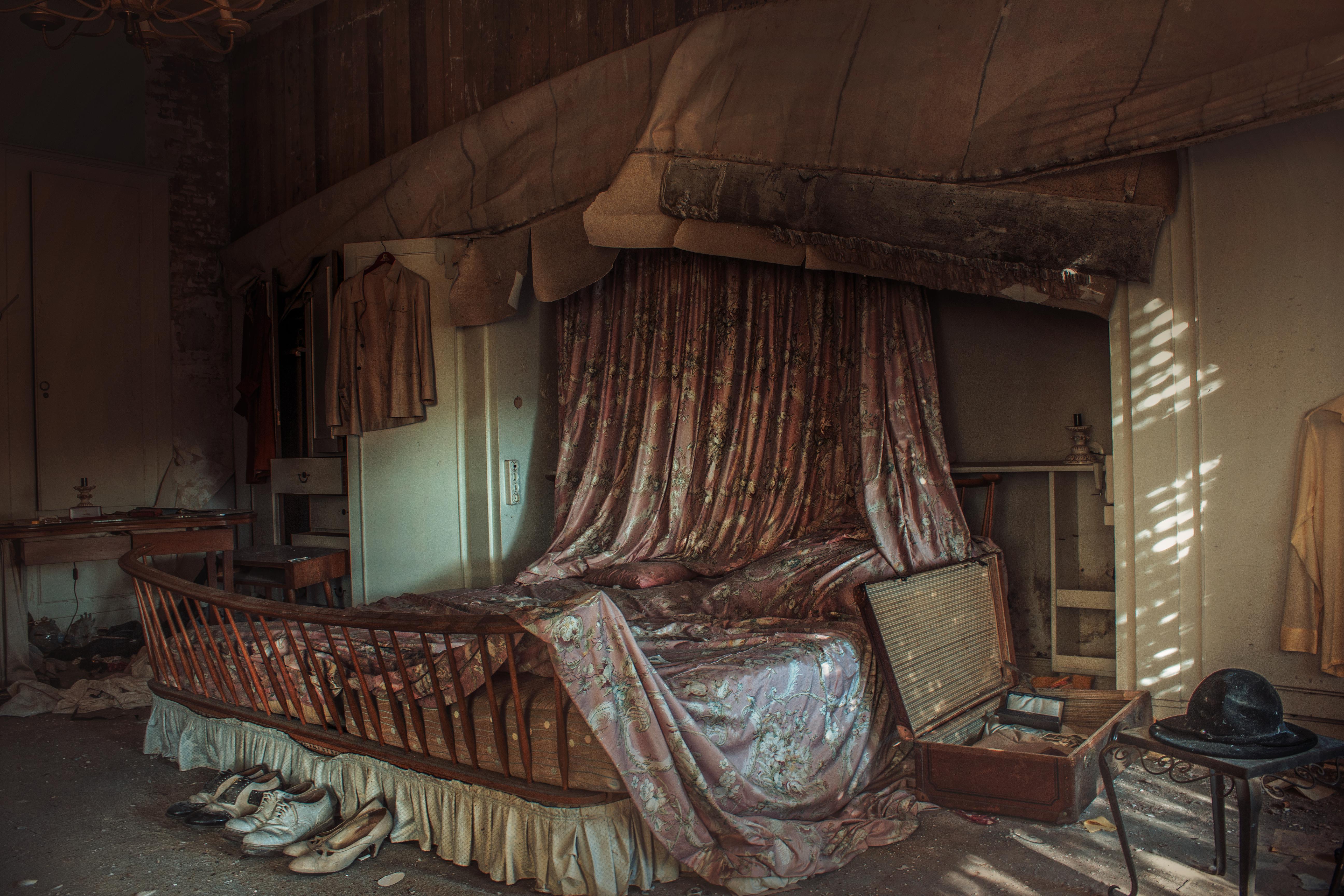 Hintergrundbilder : Fenster, Zimmer, Bett, Holz, Haus, Kanon ...