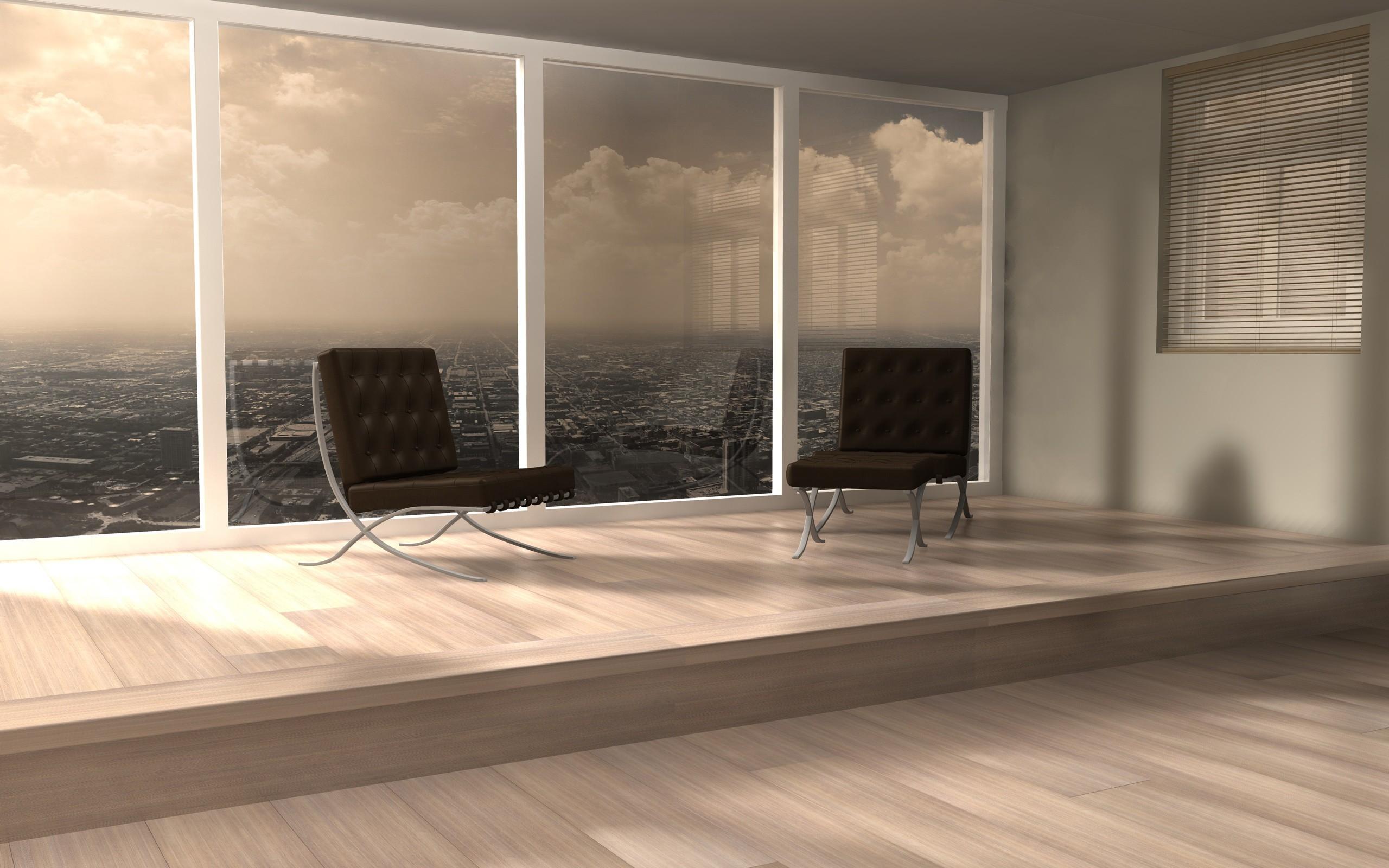 Fondos de pantalla habitaci n interior mesa silla for Suelos madera interior