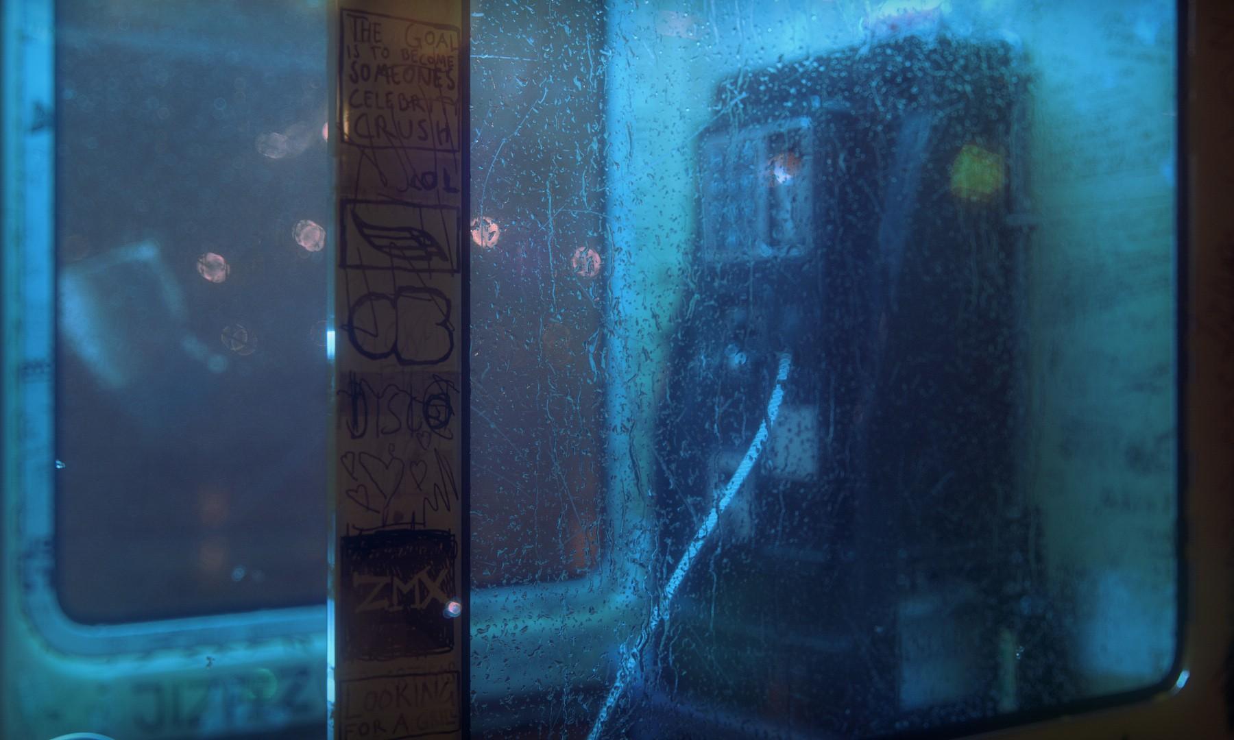 Sfondi Finestra Spazio Riflessione Blu Bicchiere Struttura