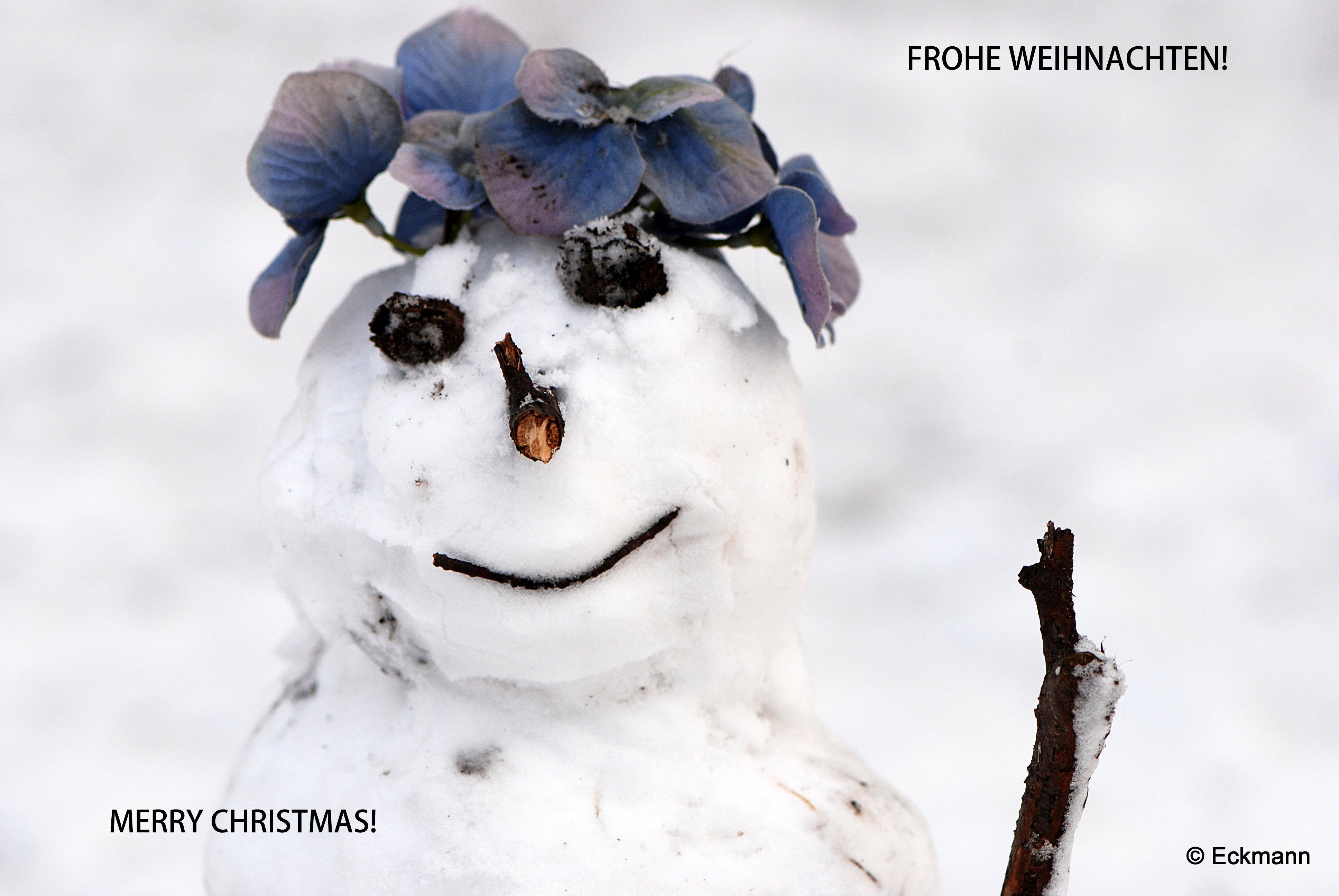 Wallpaper Winter Snowman Schneemann 3872x2592 1024912 Hd