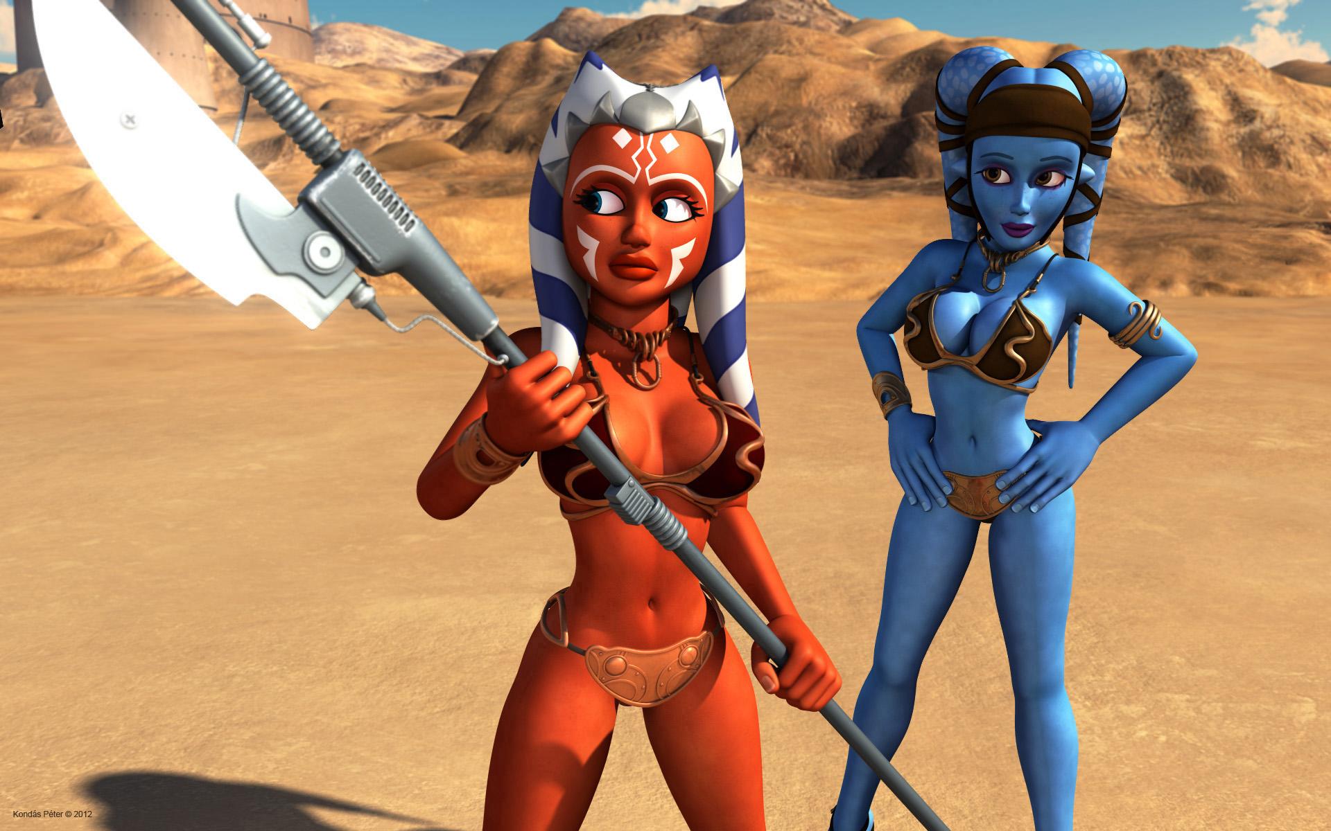 Star Wars Nude Cosplay