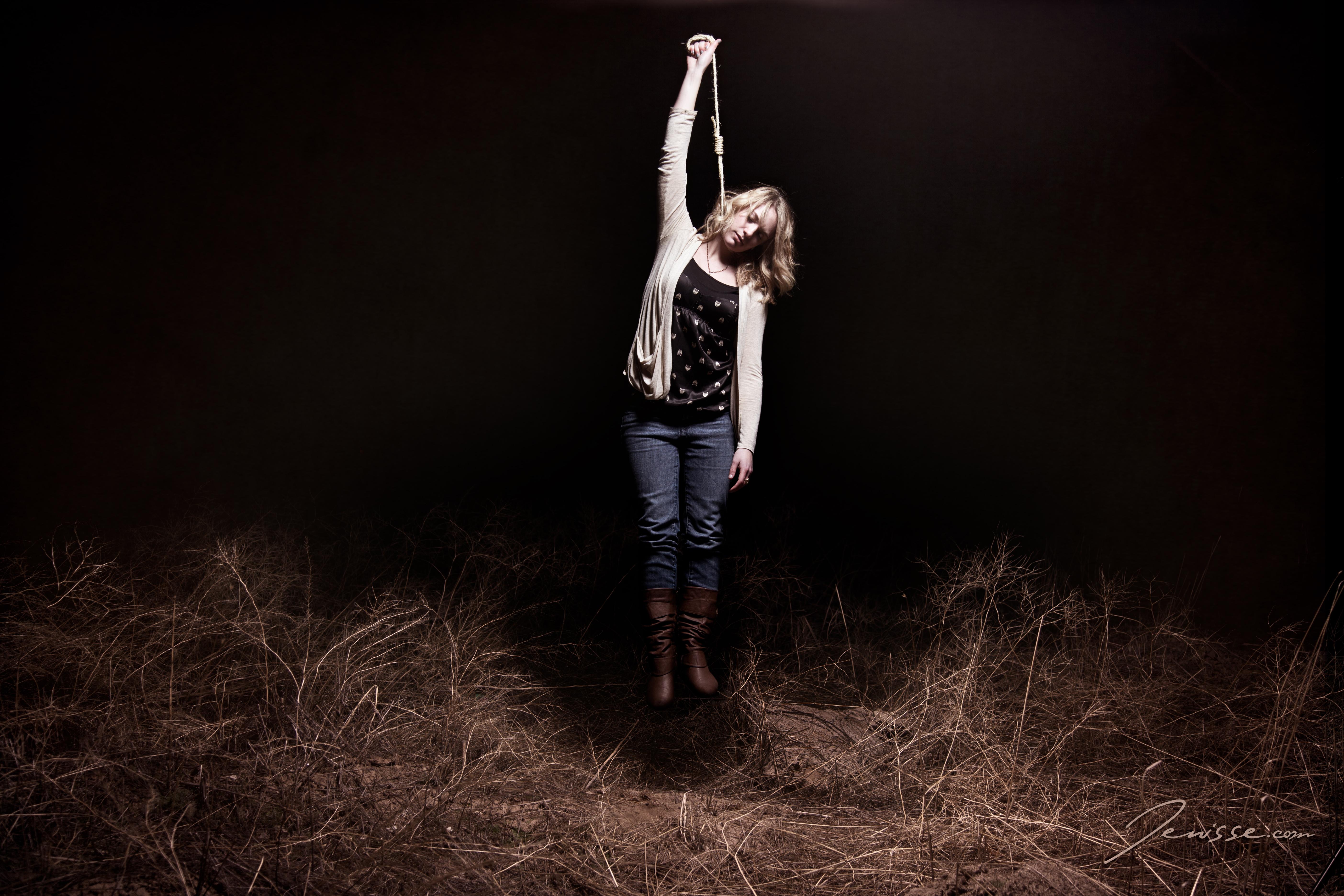 Wallpaper : woman, silly, cute, girl, field, lady, night, Photoshop, dark, dead, death, Utah, jump, funny, boots, grim, magic, hangman, suicide, evil, ...