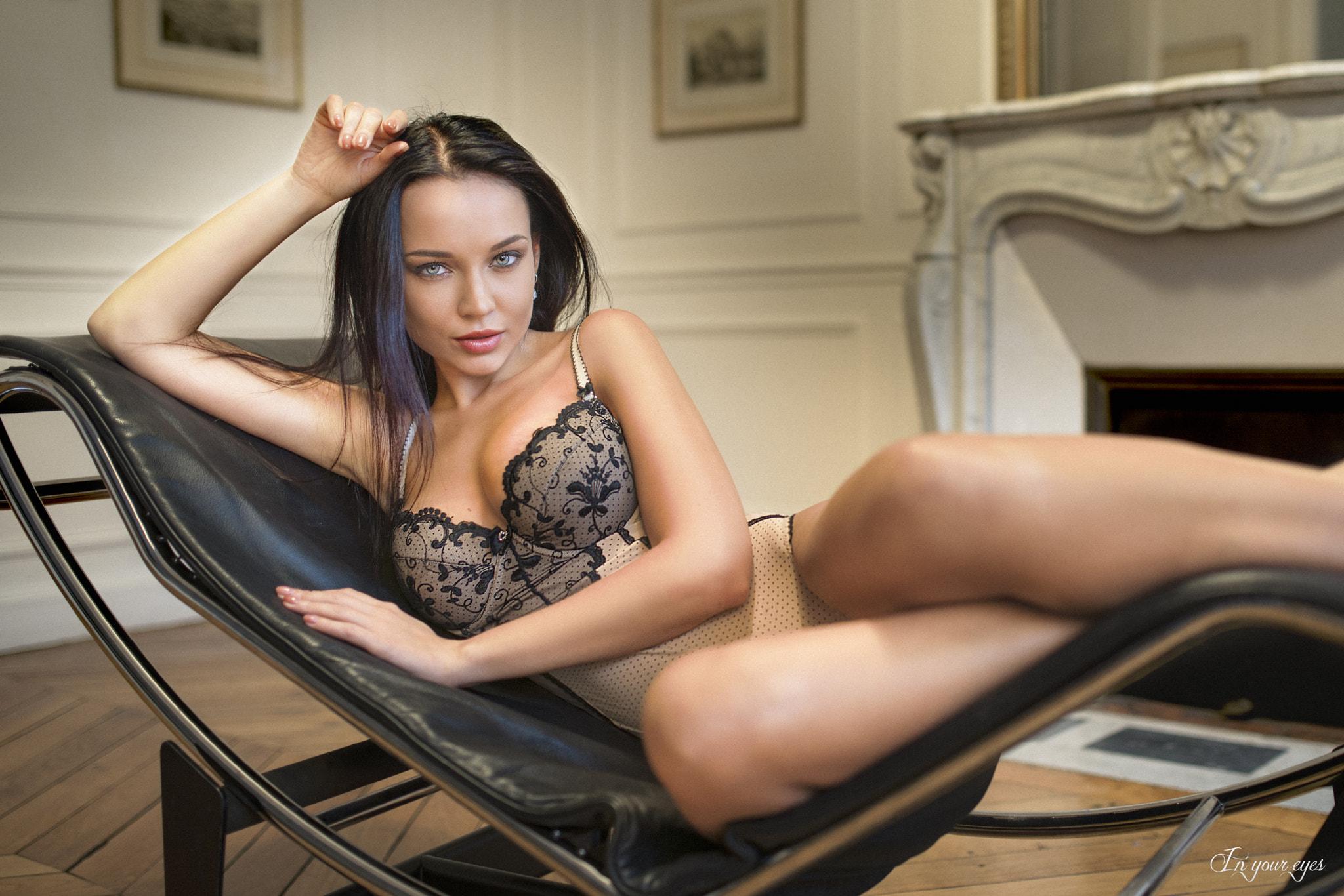 Wallpaper  Women, Angelina Petrova, Brunette, Model -7231