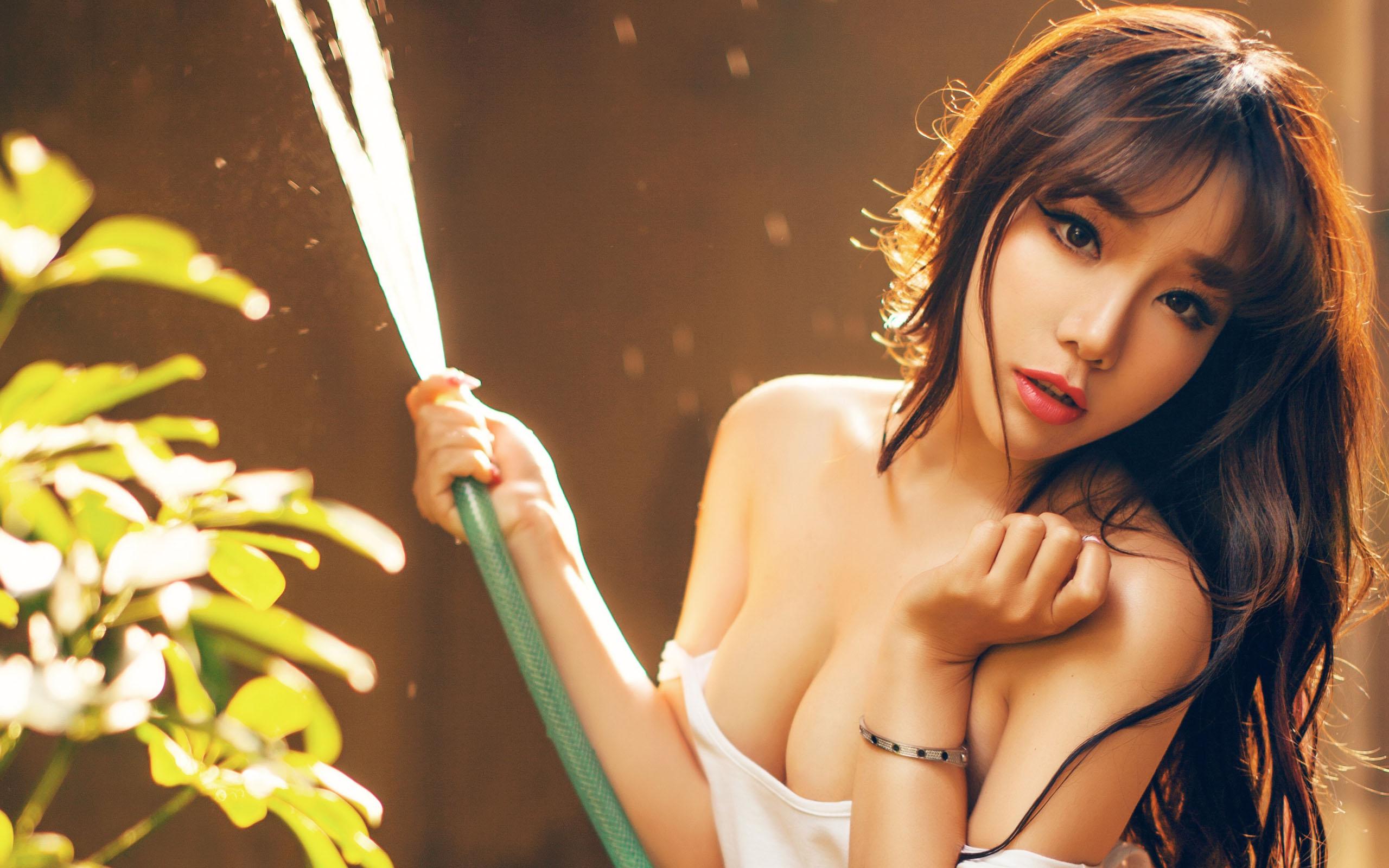 Sexy Asian Transgender Stock Photo