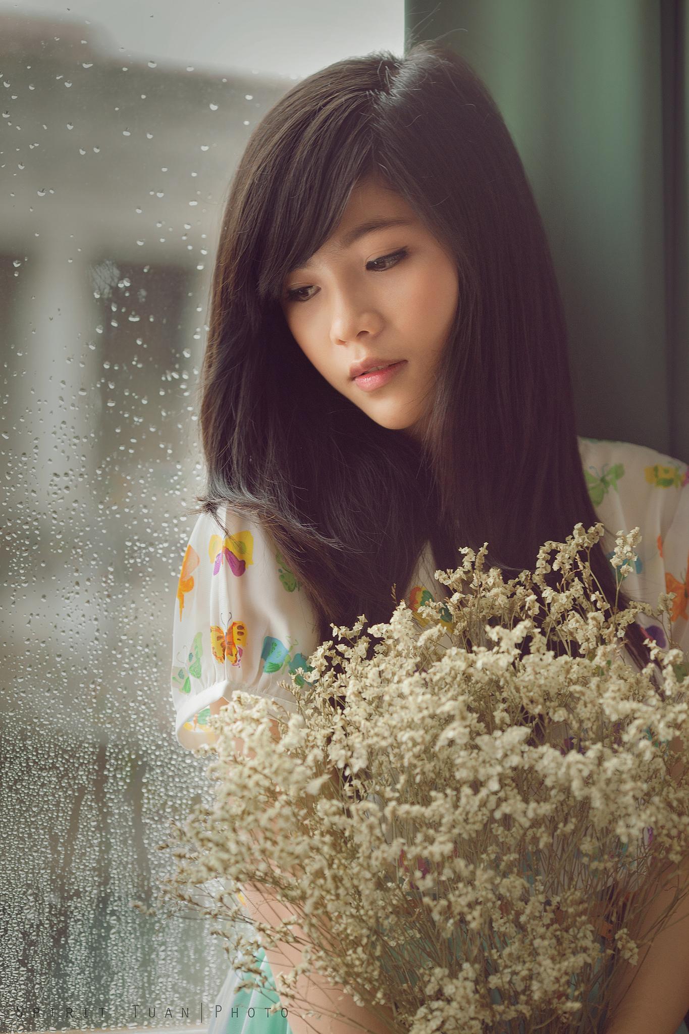 Hintergrundbilder : Frau, asiatisch, Brünette, Porträt