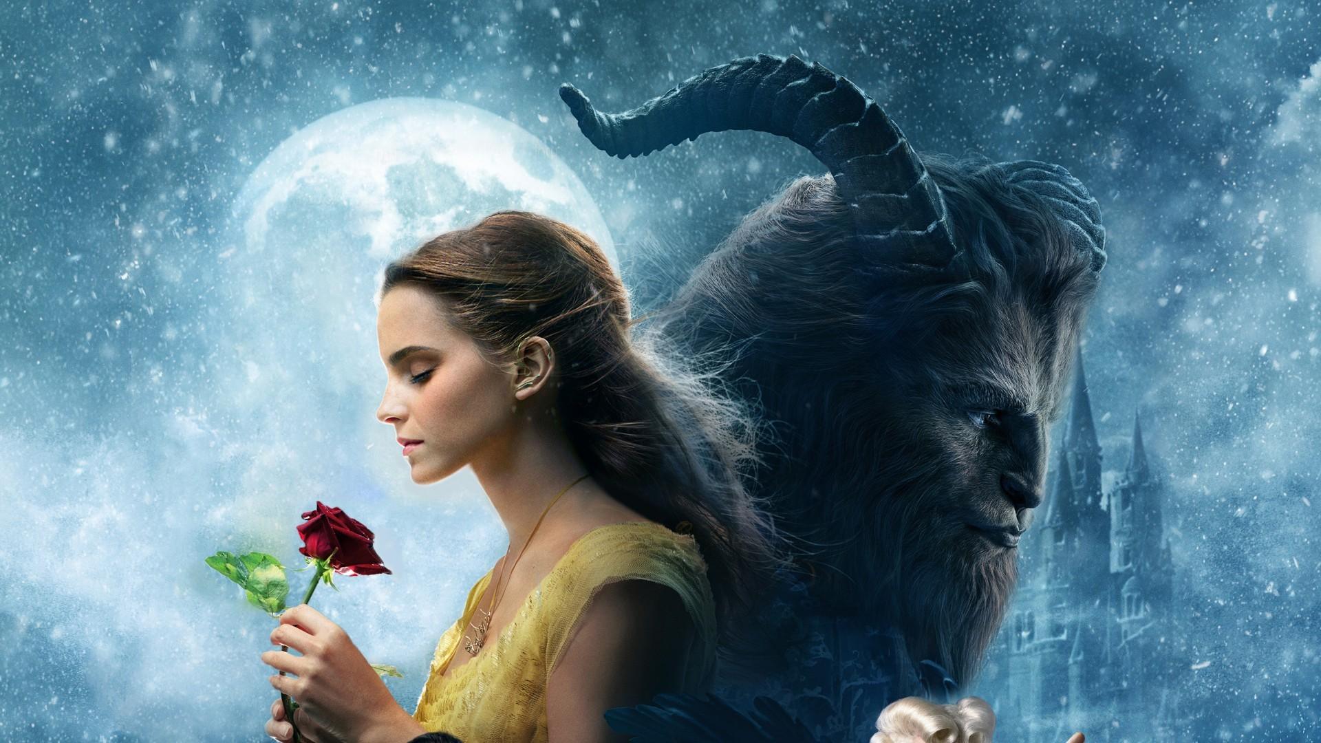 Sfondi Donne Emma Watson Film La Bella E La Bestia Creatura