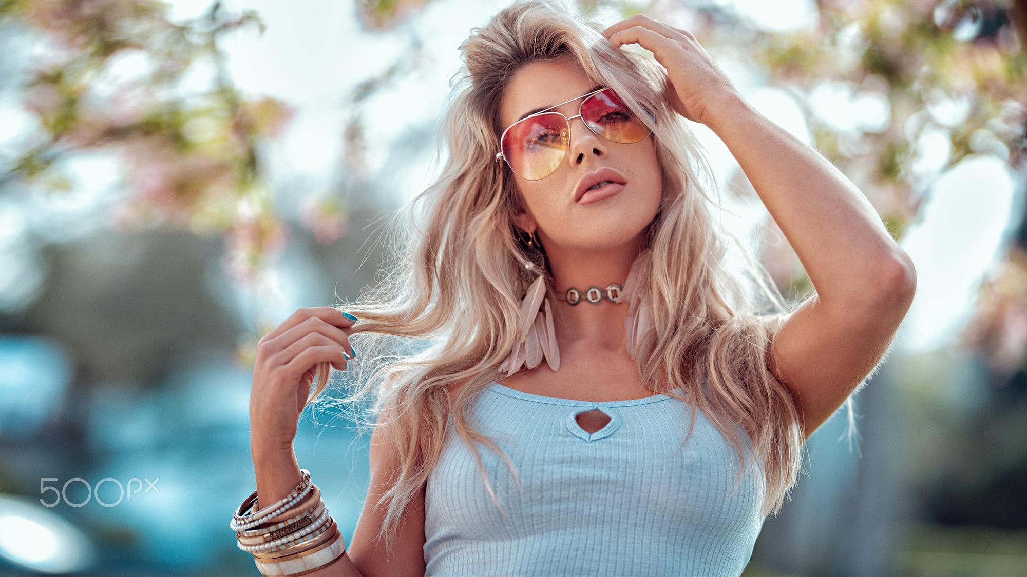 Hintergrundbilder Frau Blond Gesicht Frauen Im Freien