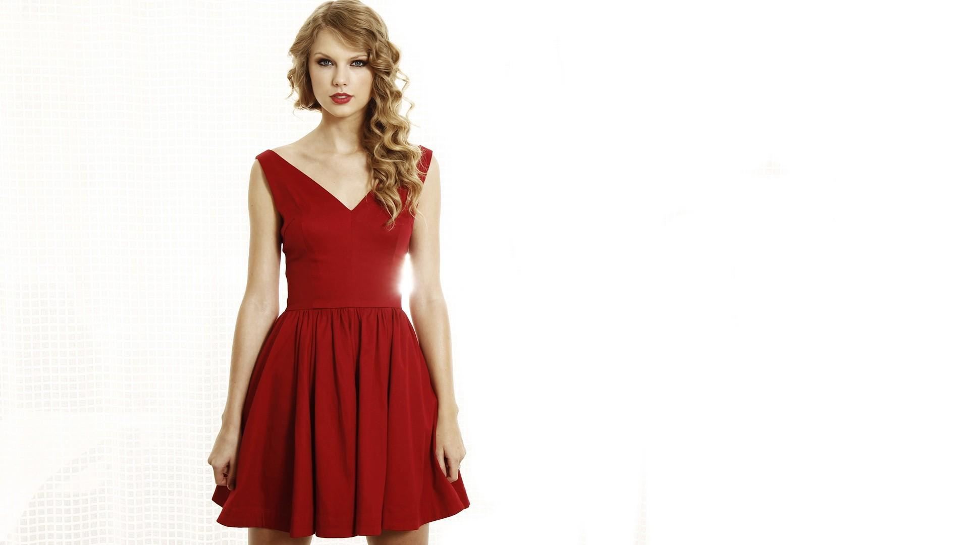 Hintergrundbilder : Frau, blond, rot, Berühmtheit, Sänger, rotes ...