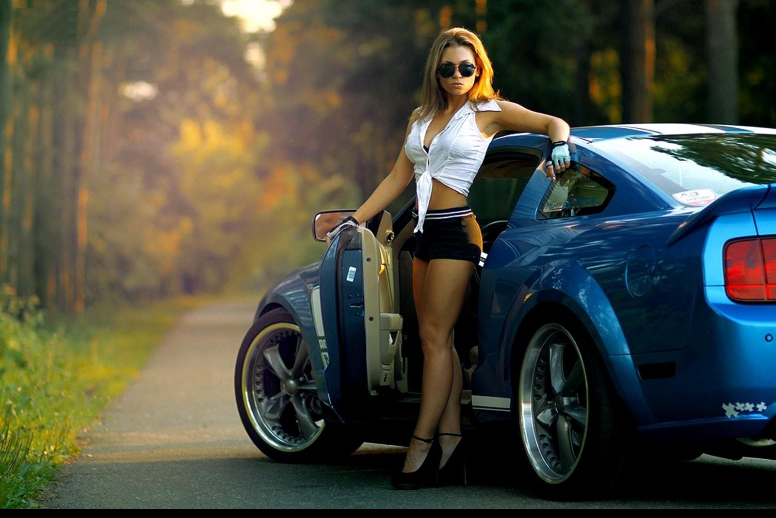 Hintergrundbilder : Frau, blond, Sonnenbrille, Auto, Blaue