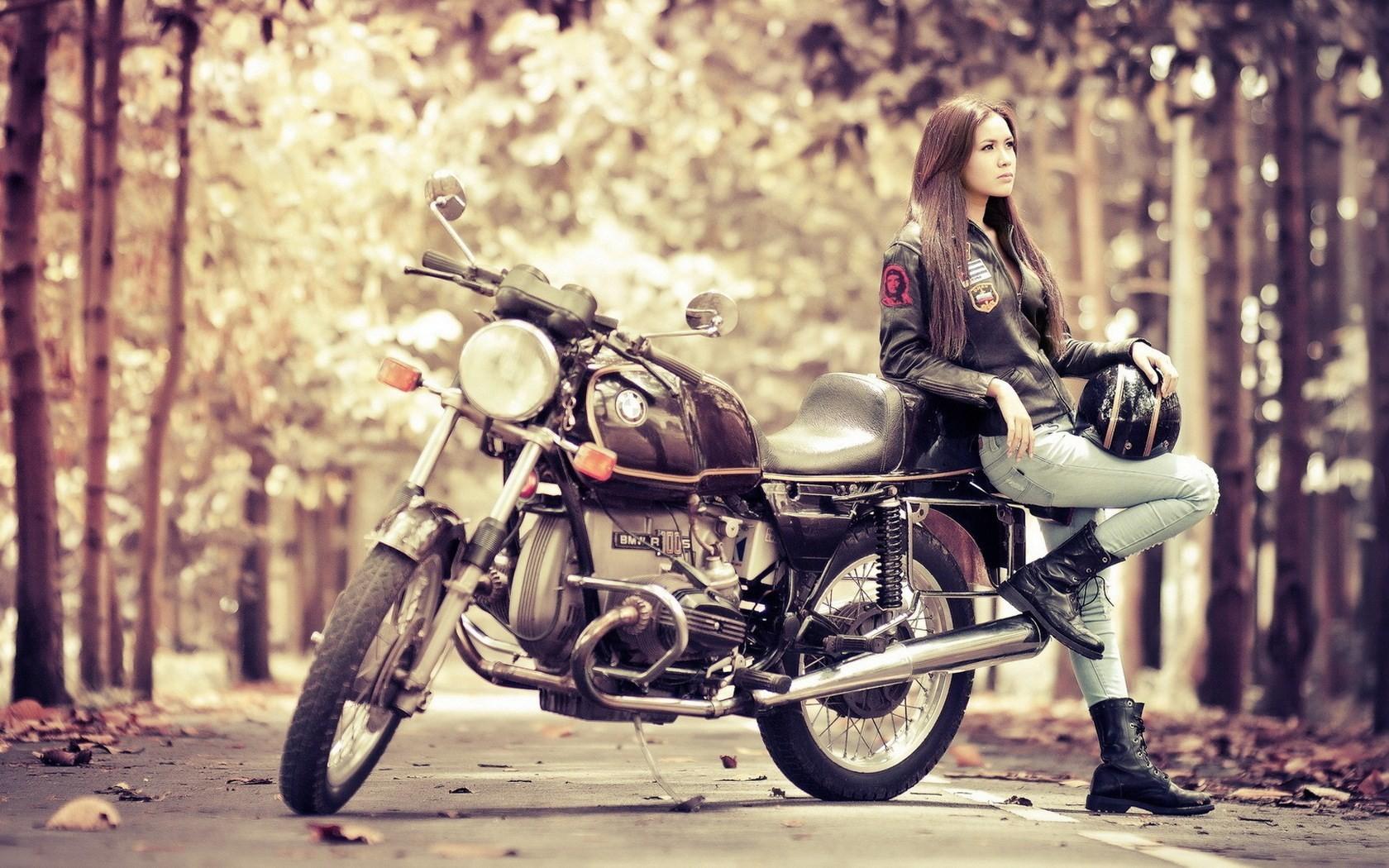 Hot girl riding bike 13