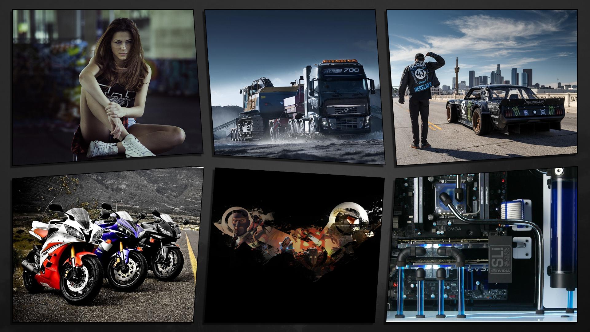 デスクトップ壁紙 女性 車 オートバイ Cpu トラック Steamソフトウェア 人生の半分