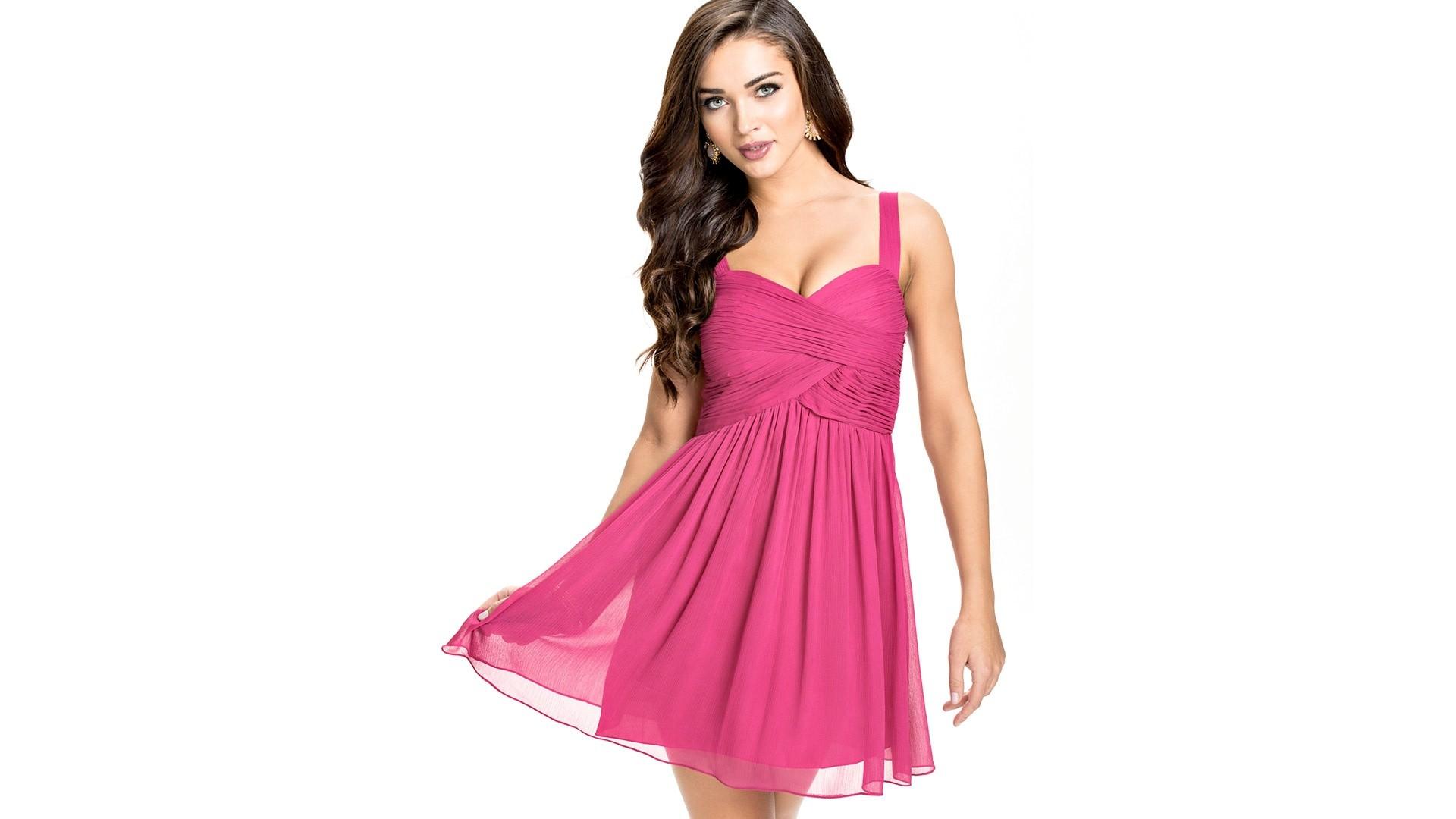 Hintergrundbilder : Frau, Kleid, Muster, Pfirsich, Rosa, Kleidung ...
