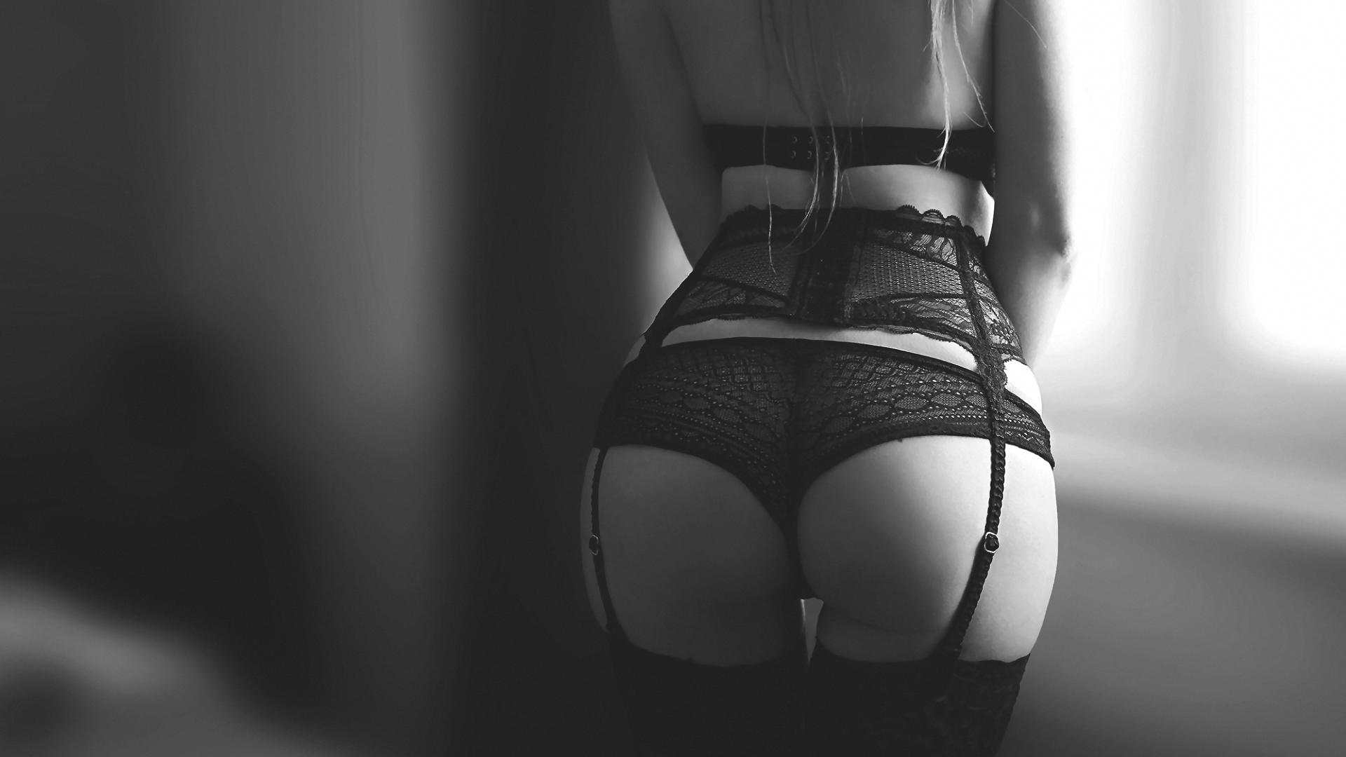 Красивые попки черно-белое фото, смотреть клипы про порно