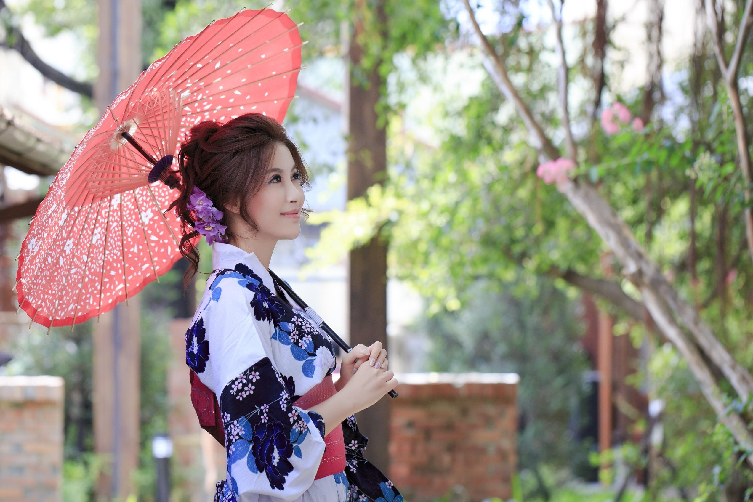 певице надето красивые японки с зонтами картинки удача