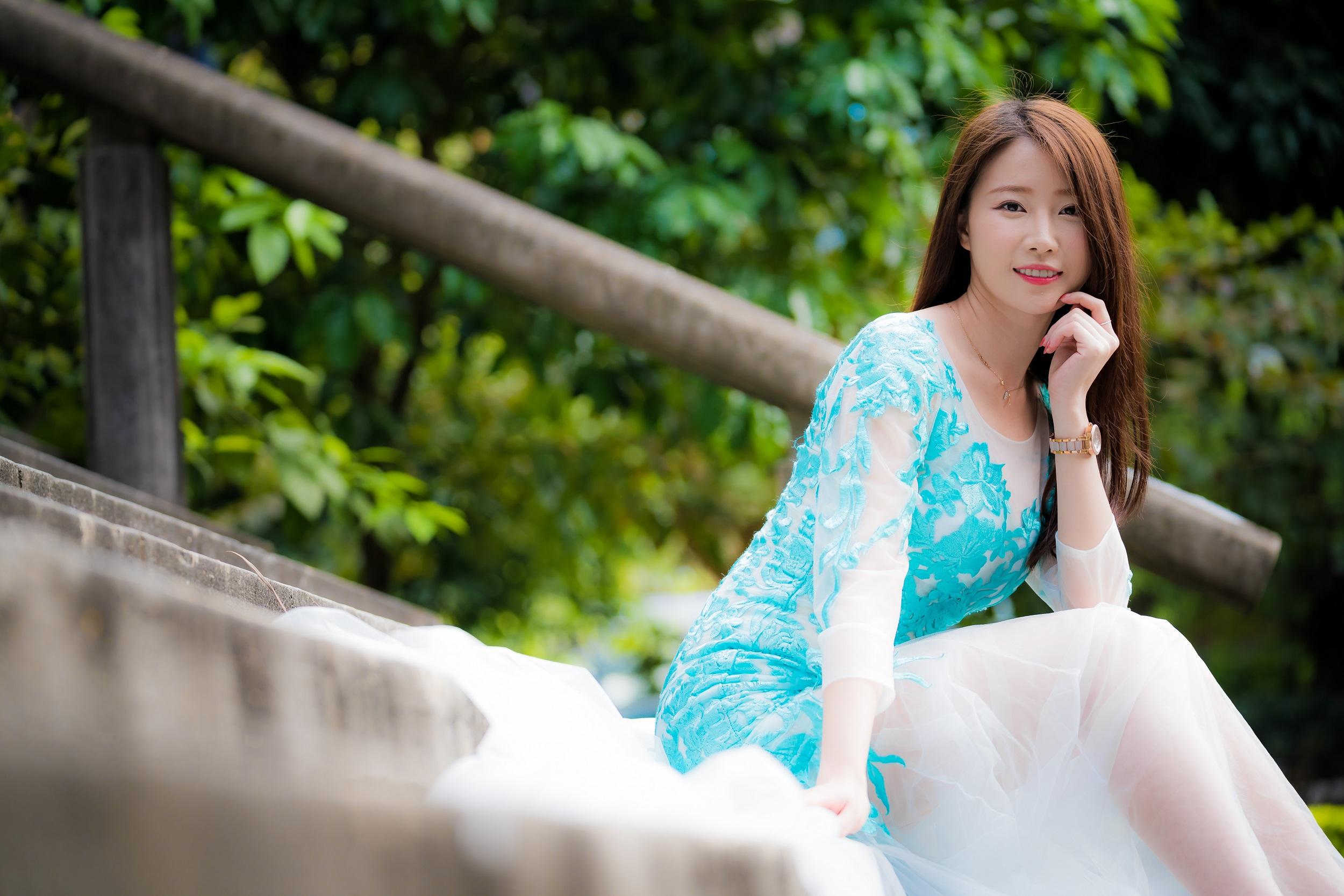 Fondos de pantalla : mujer, modelo, asiático, Mujeres al aire libre ...