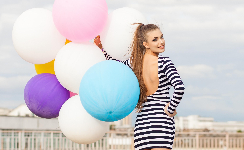 Открыток, фото с шарами