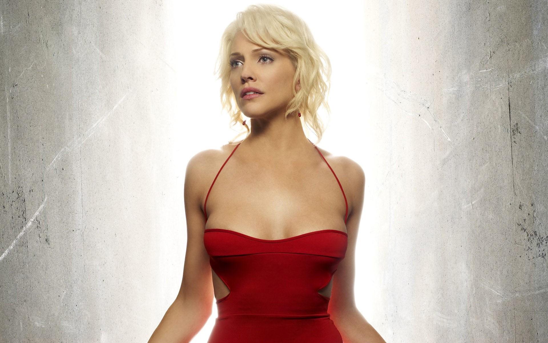 Wallpaper Women Blonde Long Hair Short Hair Photography Red
