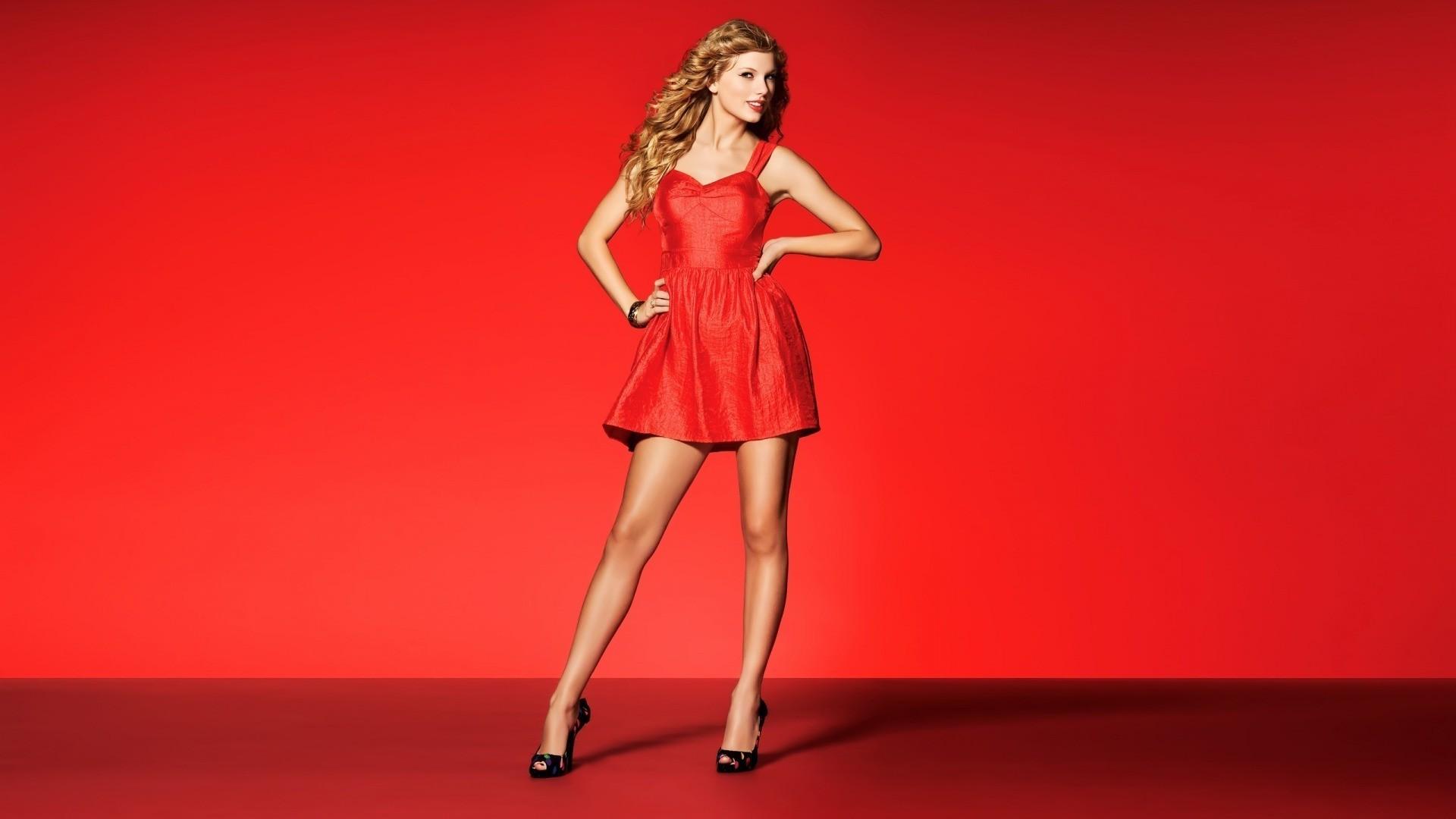 Hintergrundbilder : Frau, Modell-, blond, rot, Berühmtheit, Kleid ...
