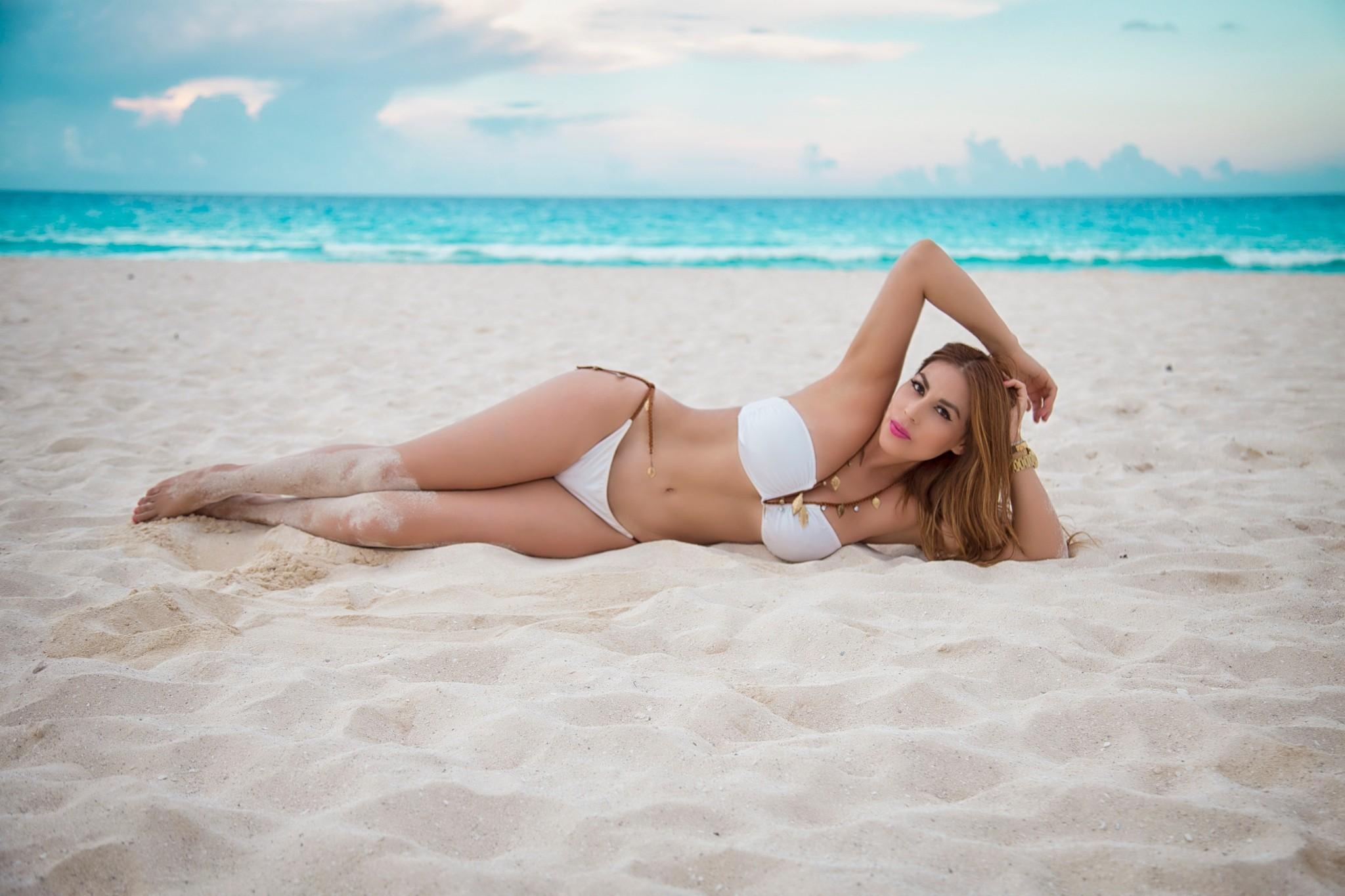 Пляжные фото женщина #2