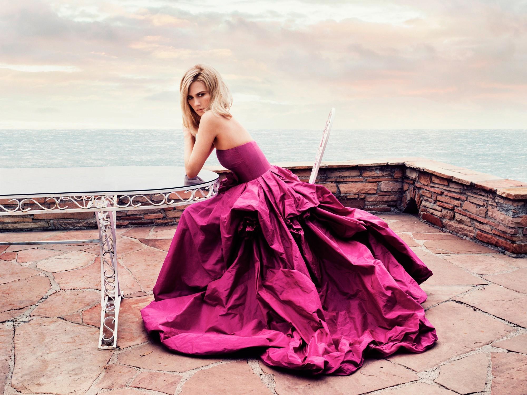 Fondos de pantalla : mujer, modelo, rubia, mar, cielo, fotografía ...
