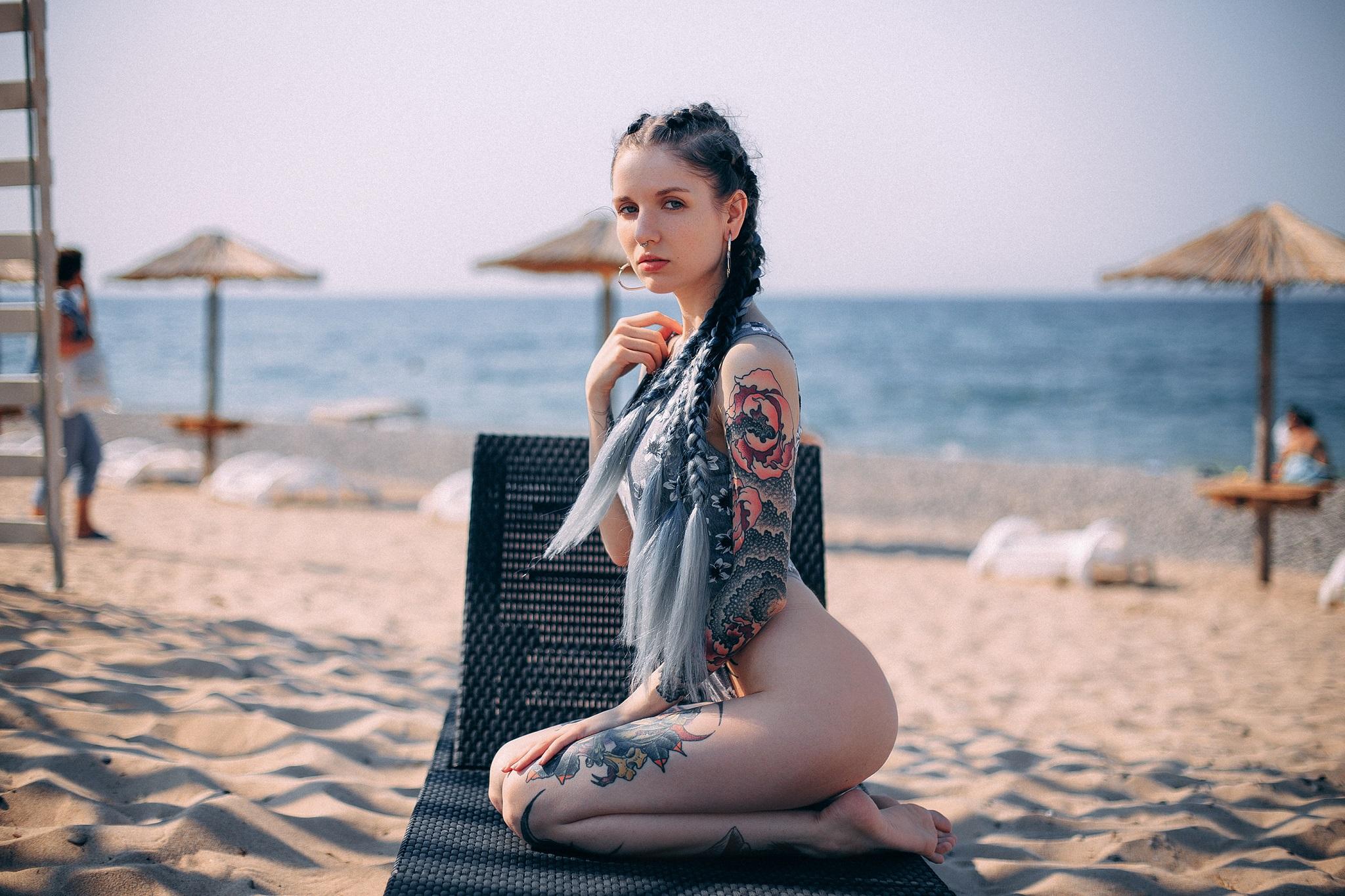 Nude beach tattoo