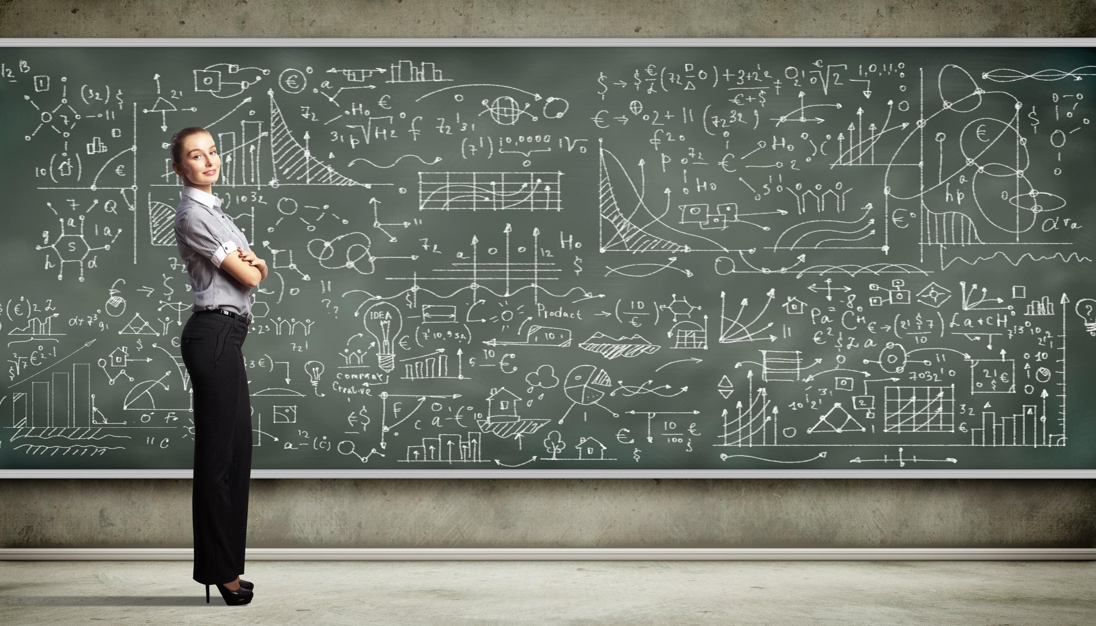 зачем картинки с математическими формулами и графиками того