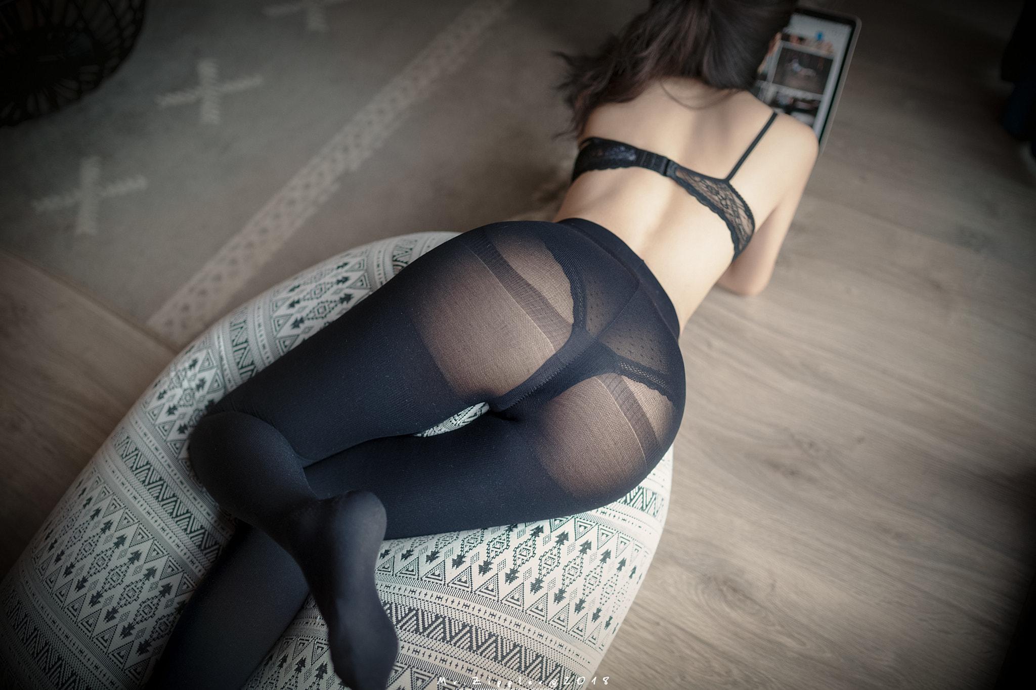 Stockings Ass