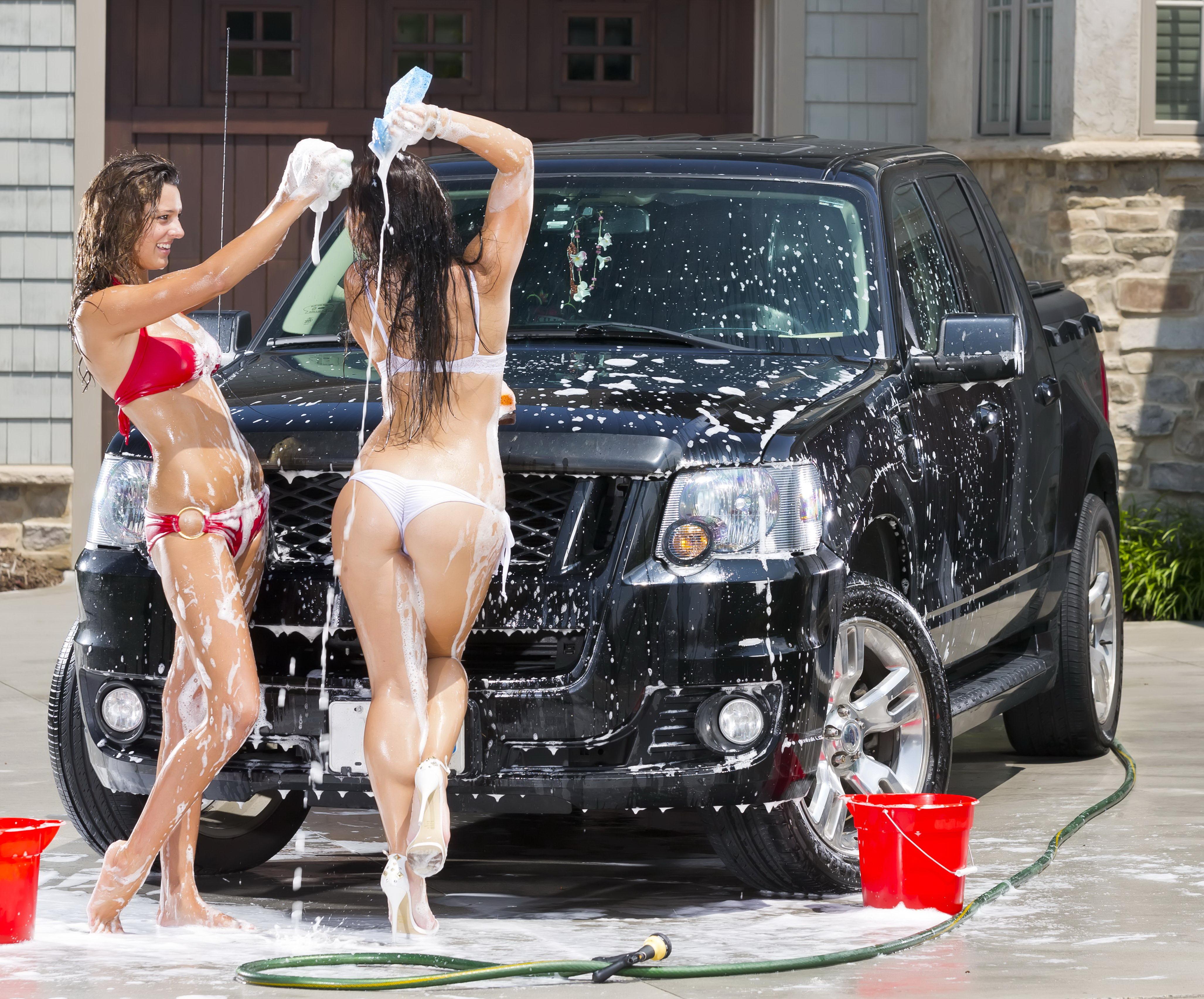 Car Wash Bondage
