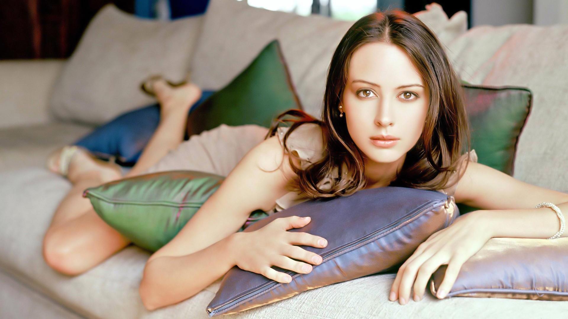 Amy Acker Nackt hintergrundbilder : frau, modell-, augen, lange haare
