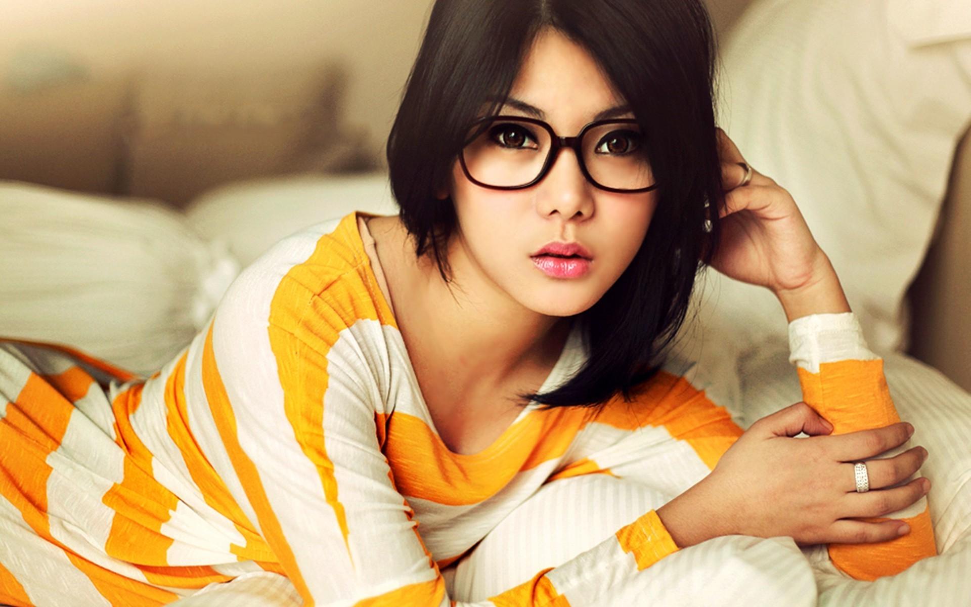 Asian girl glasses fi, India sex vido