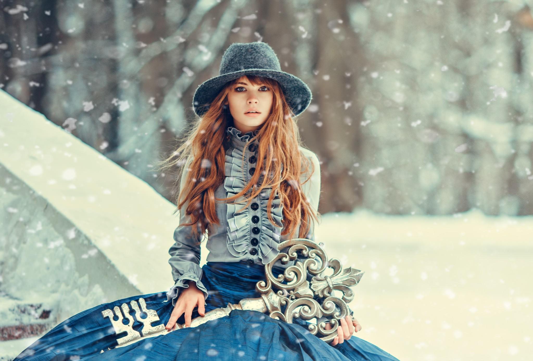 татарки зима стильные картинки последнее время