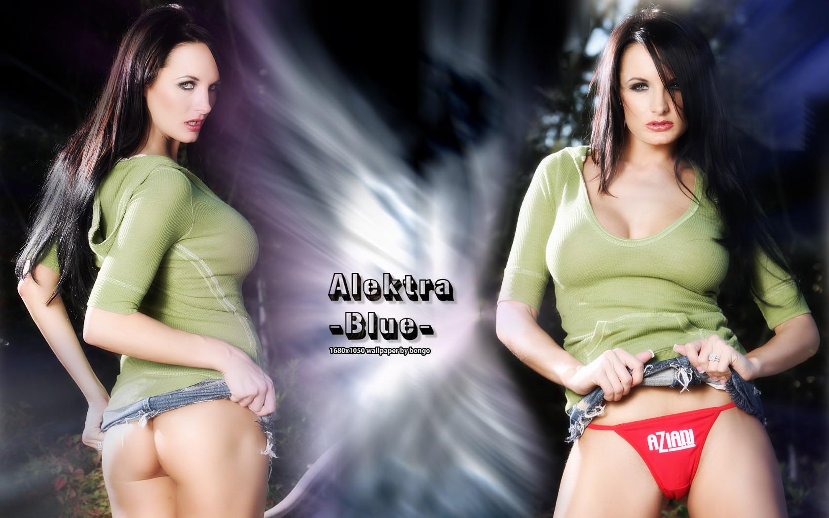 Alektra Blue Is Sucking A Huge Dick