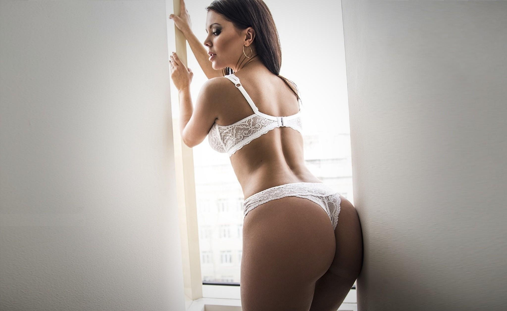 Accept. interesting hot brunette white lingerie are not
