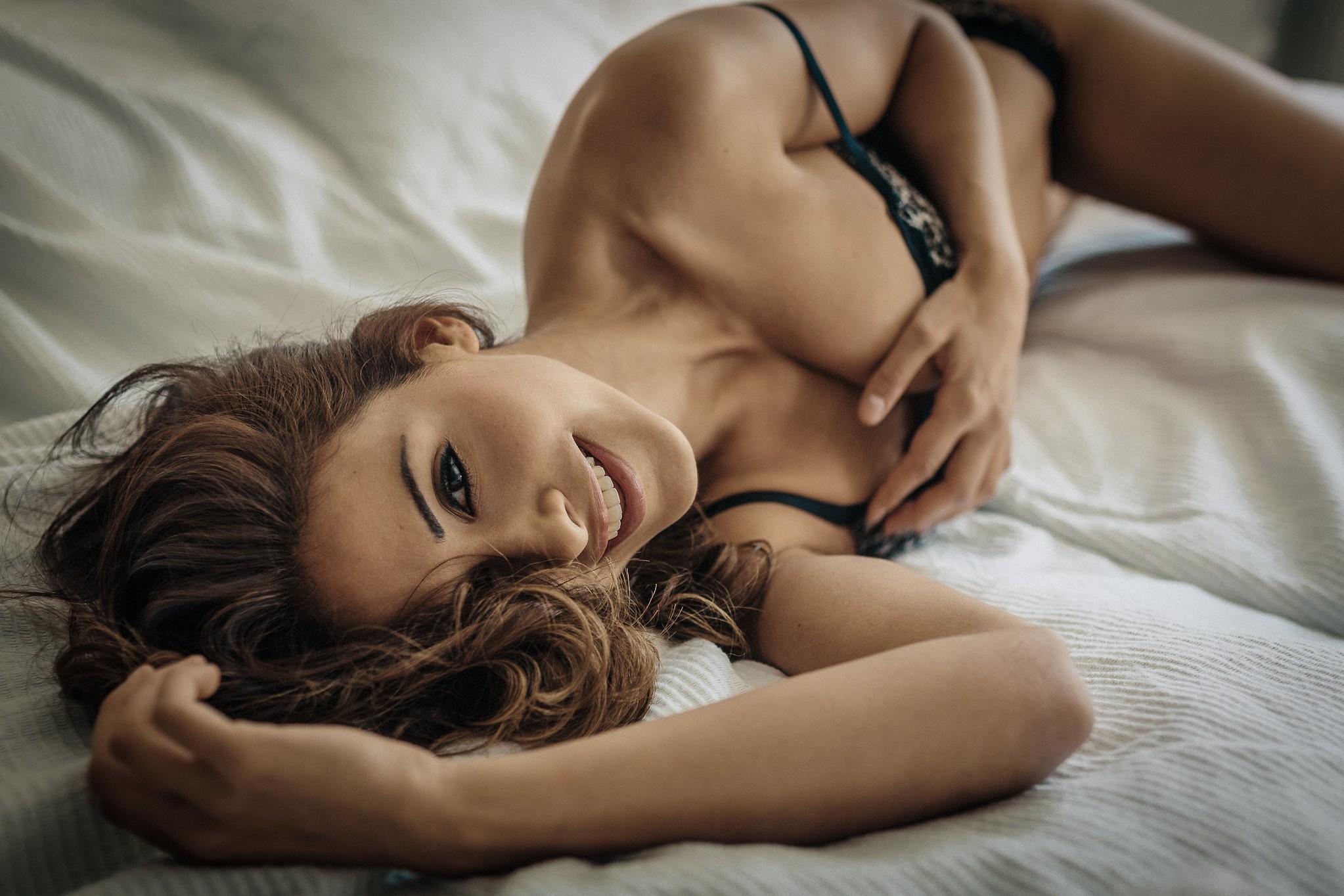 Секси фото в постеле — 4