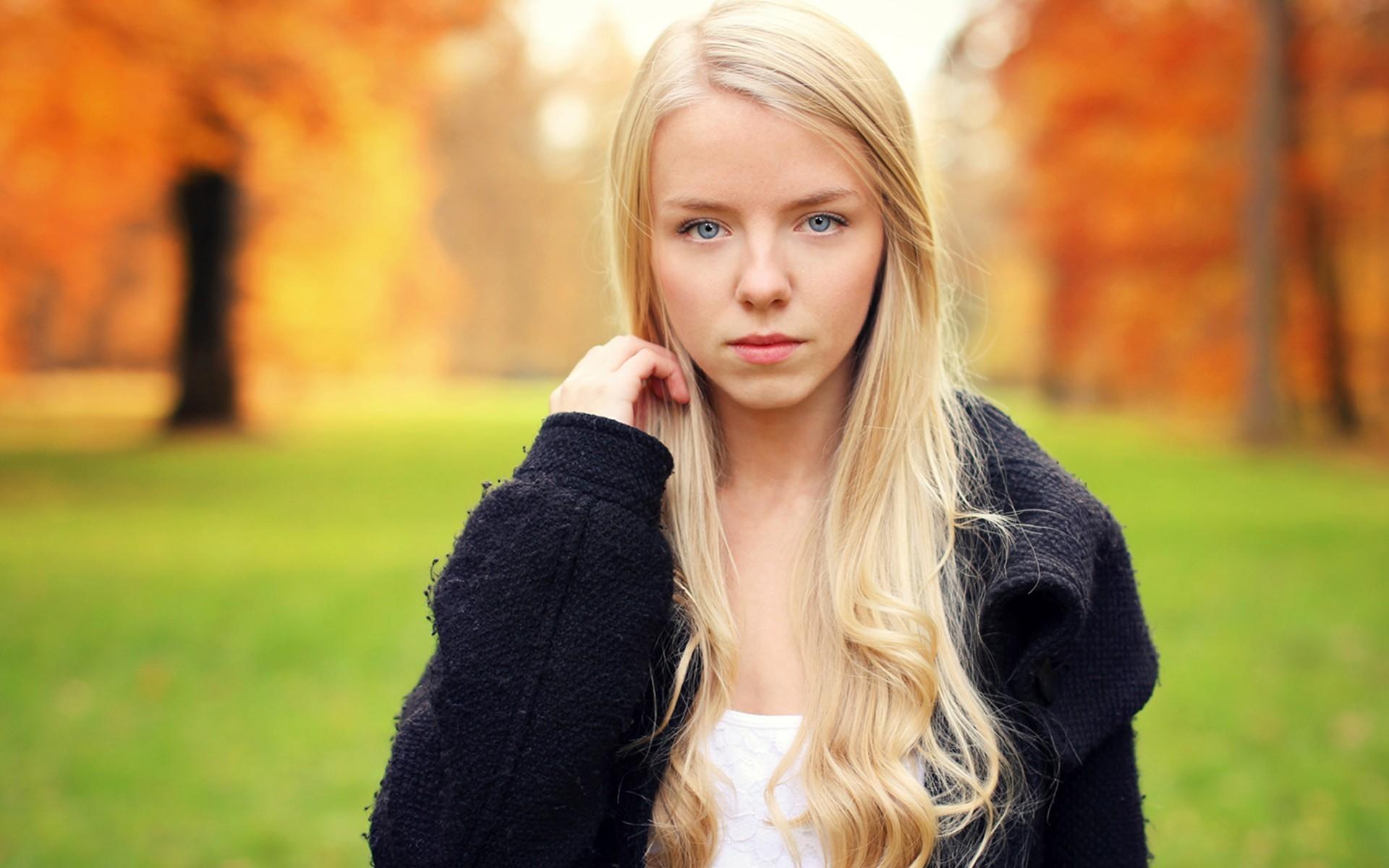 Pretty blonde girl