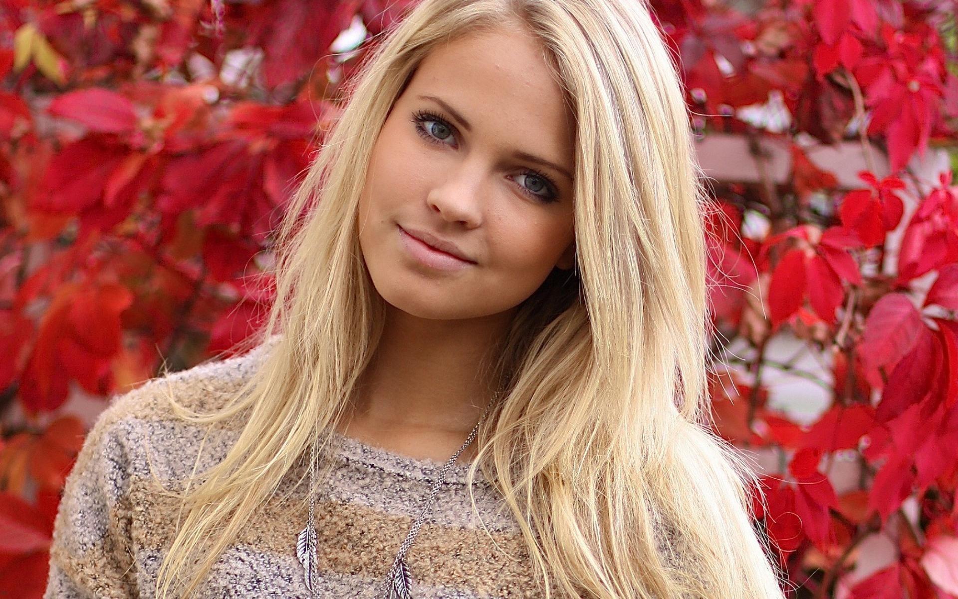 Фото красивой молодой девушке на аву