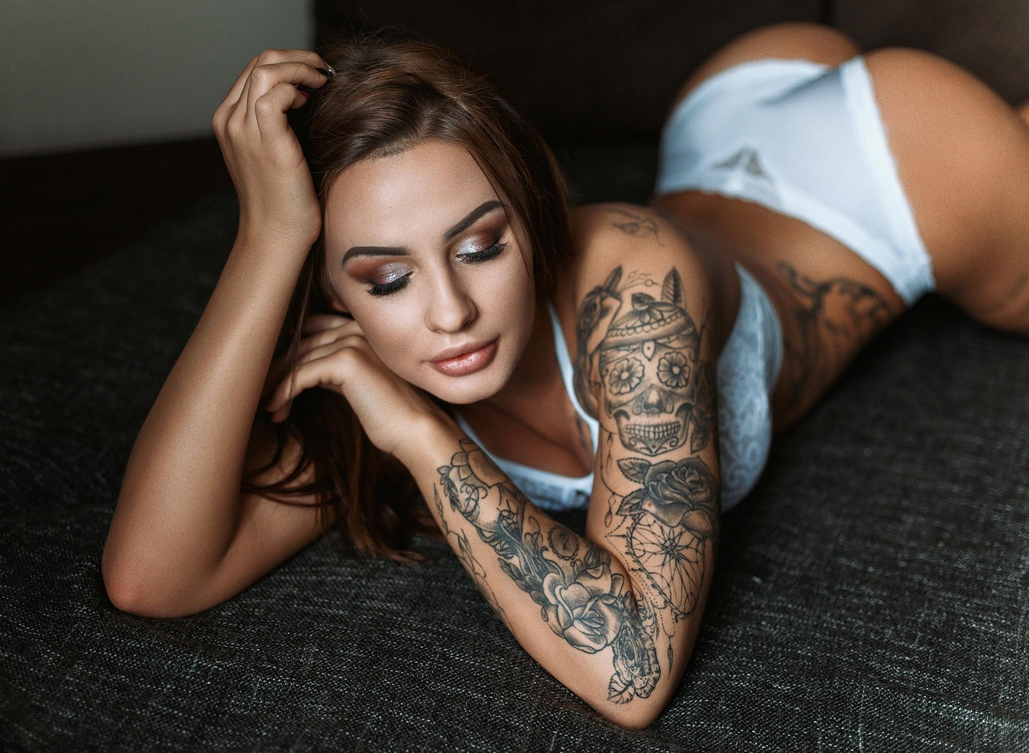 фото татуировок девы местечко расположено