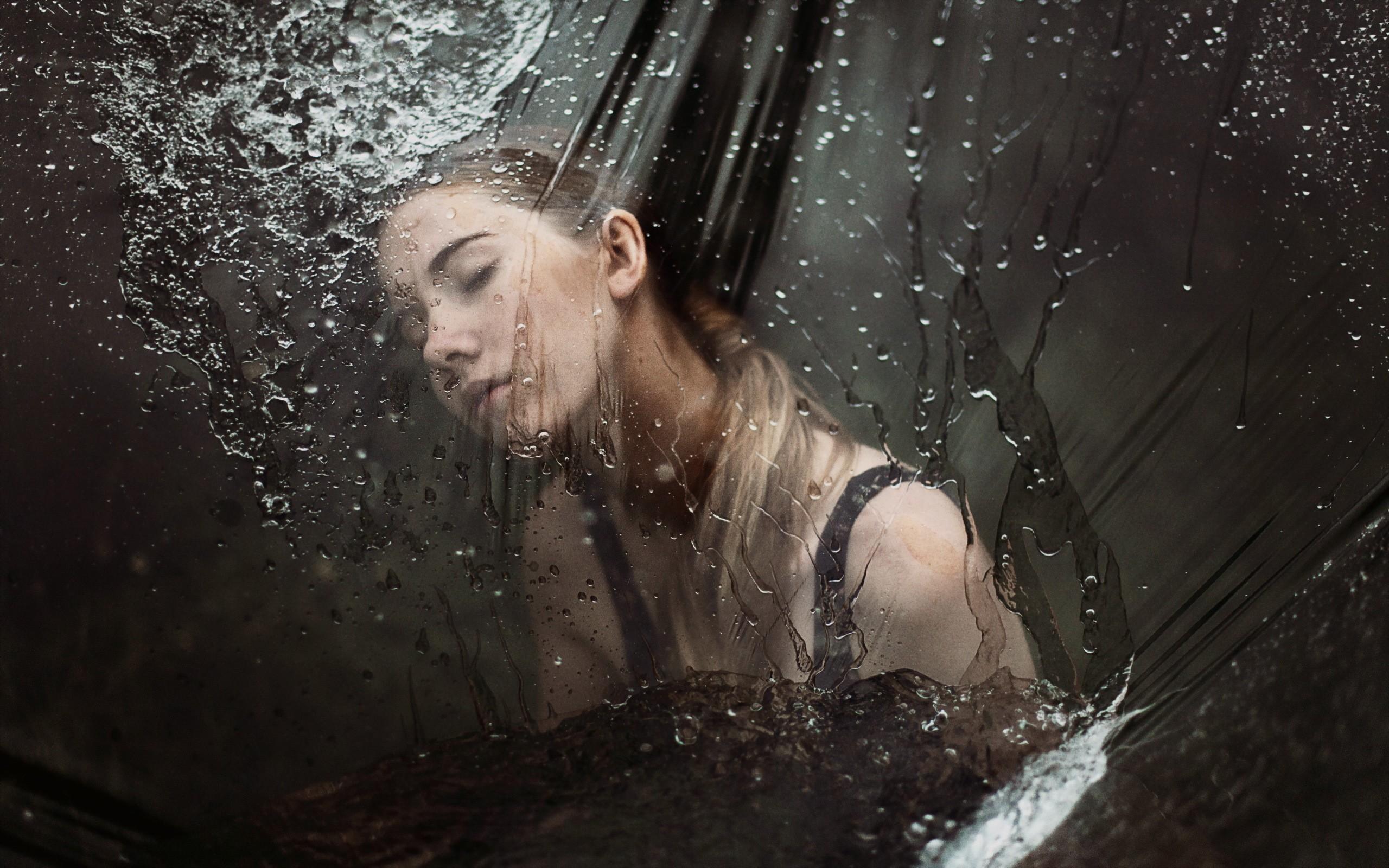 Как фотографировать дождь через стекло