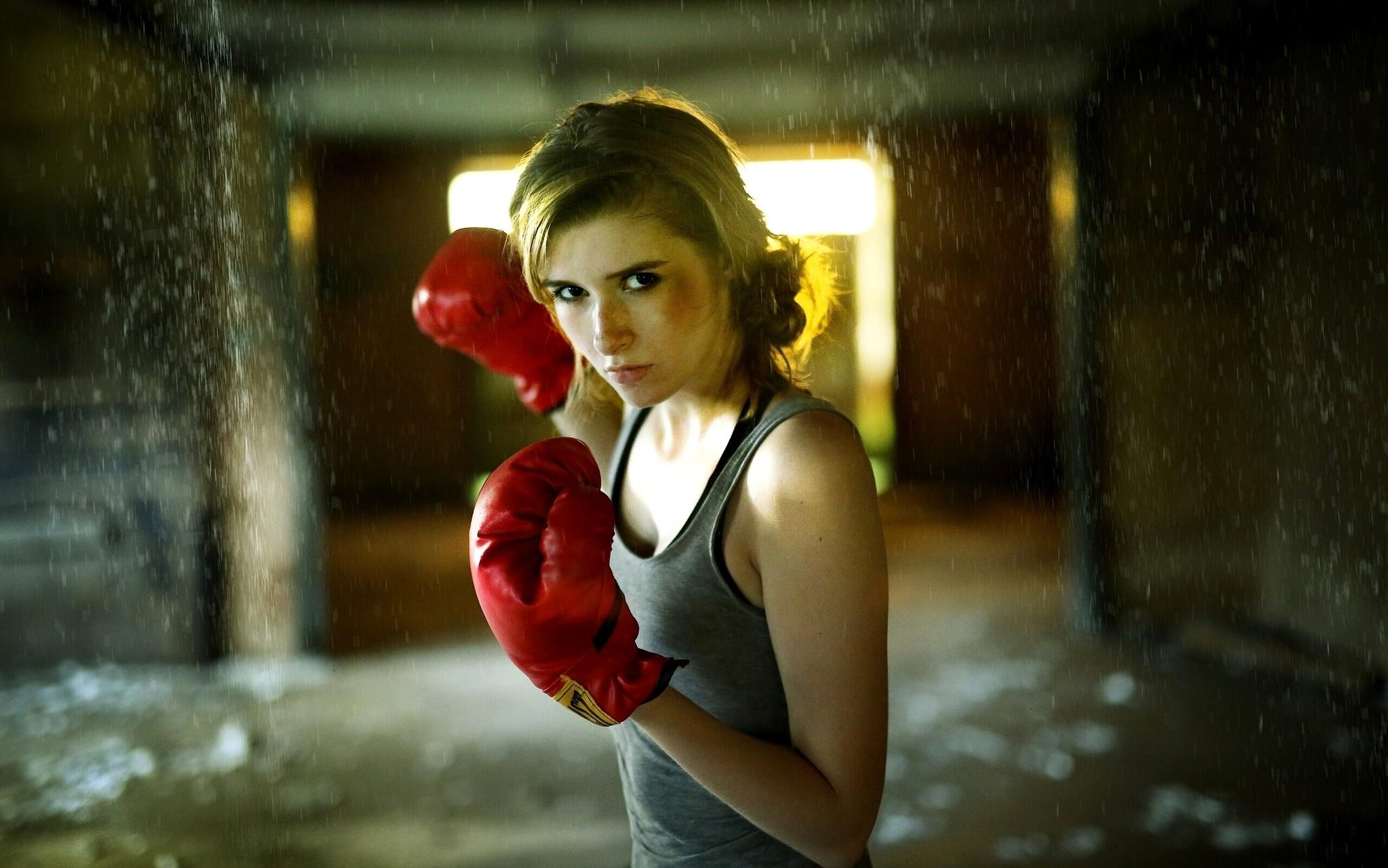 Идеи фотосессии для боксерки