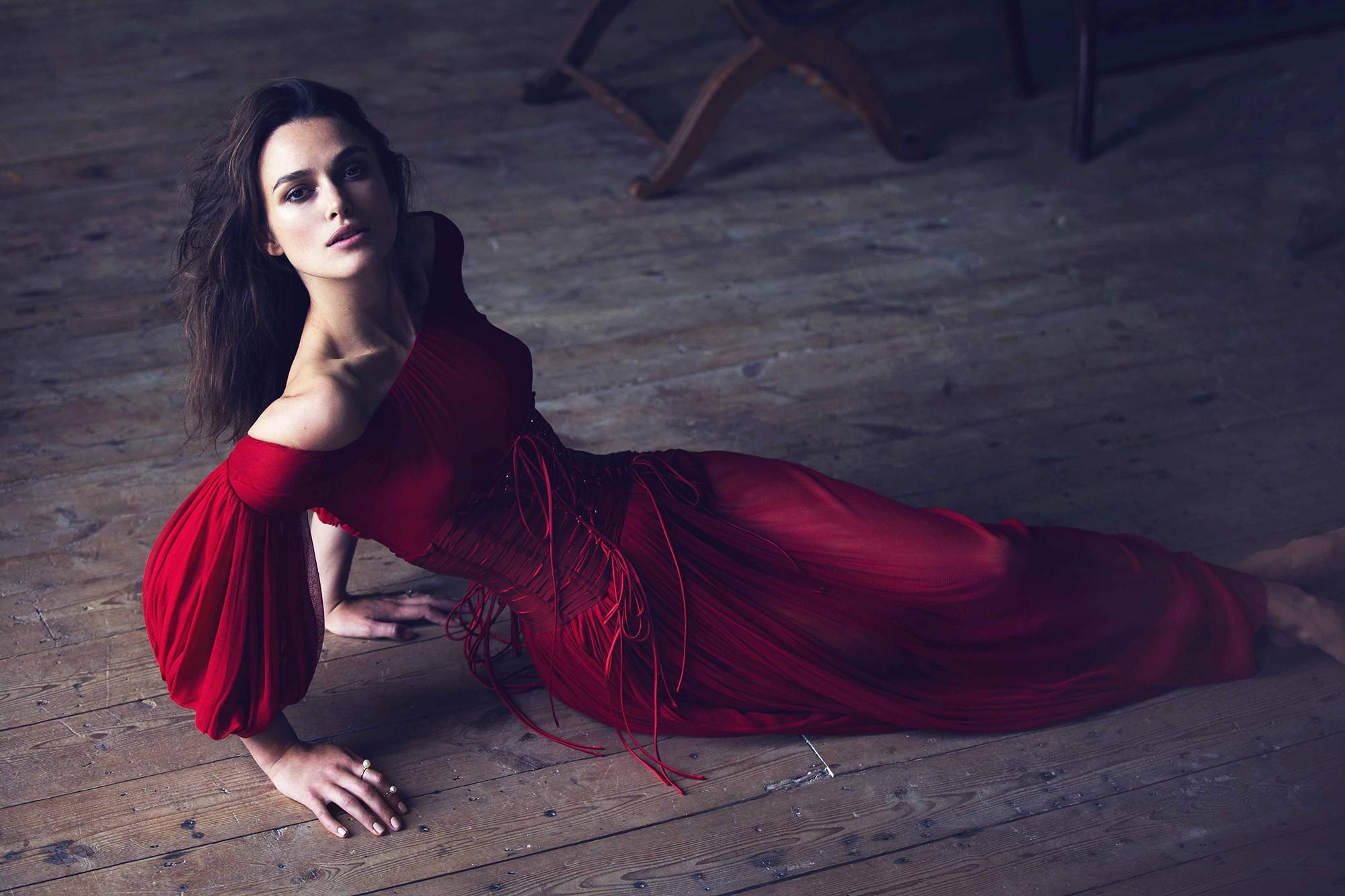 Fondos de pantalla : mujer, modelo, rojo, sentado, fotografía ...