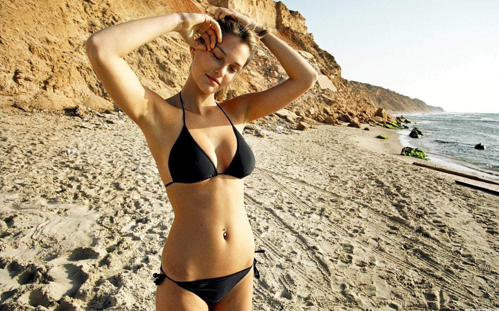 wallpaper : women, model, sand, photography, swimwear, clothing