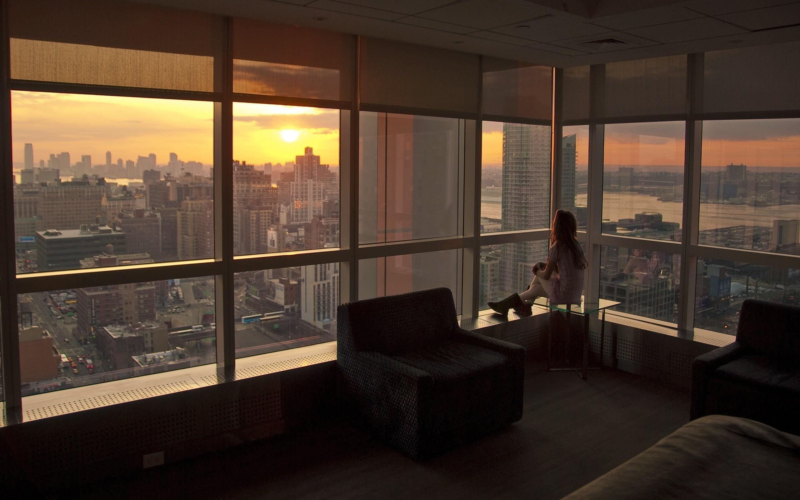 Hintergrundbilder : Frau, Modell-, Fenster, Stadt, Stadtbild, Zimmer ...