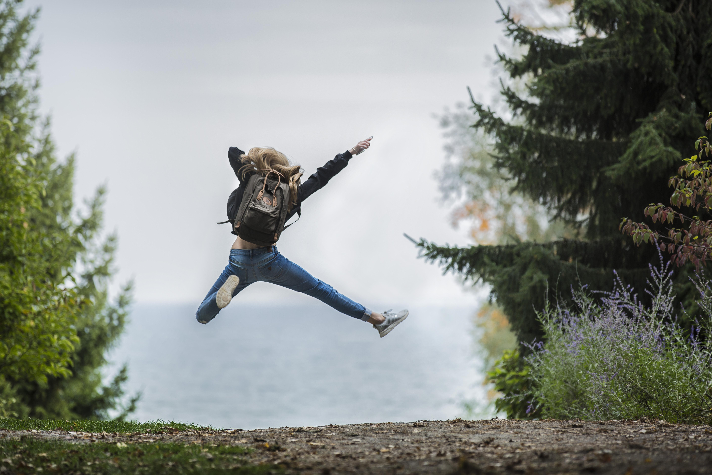 его как сделать фото в воздухе прыжок есть сидит человек