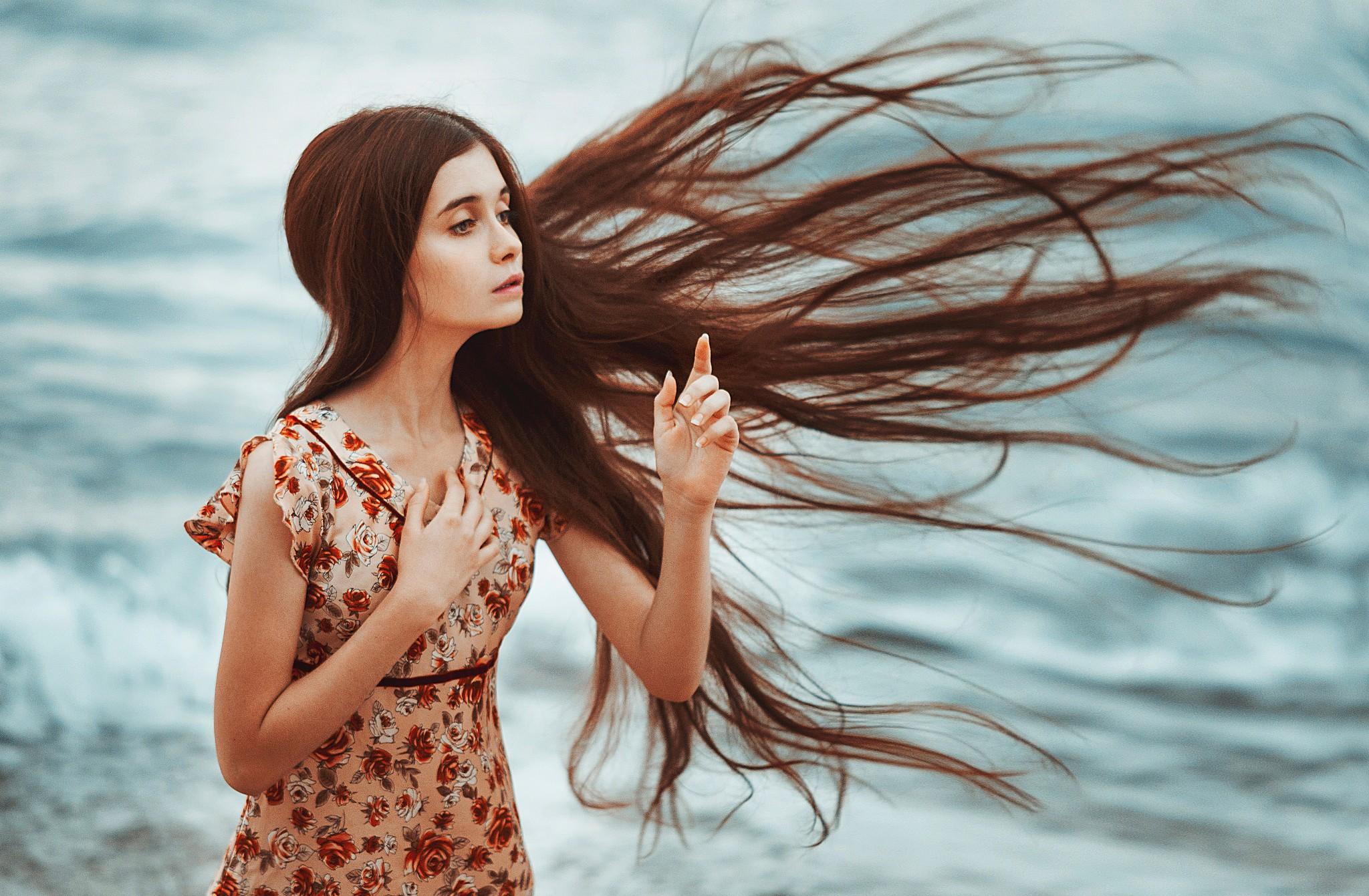 ногти картинки волосы на ветру успешно посадили