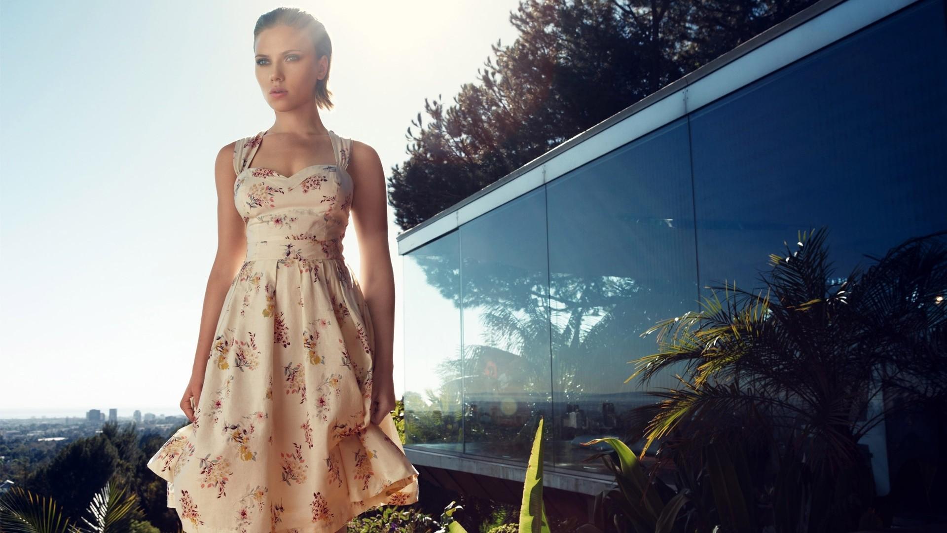 Wallpaper : women outdoors, model, celebrity, actress, dress ...
