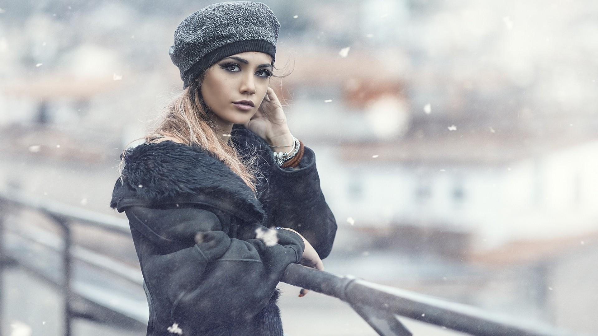 aire libre mujer al pantalla Fondos Mujeres modelo retrato de 4RICqX