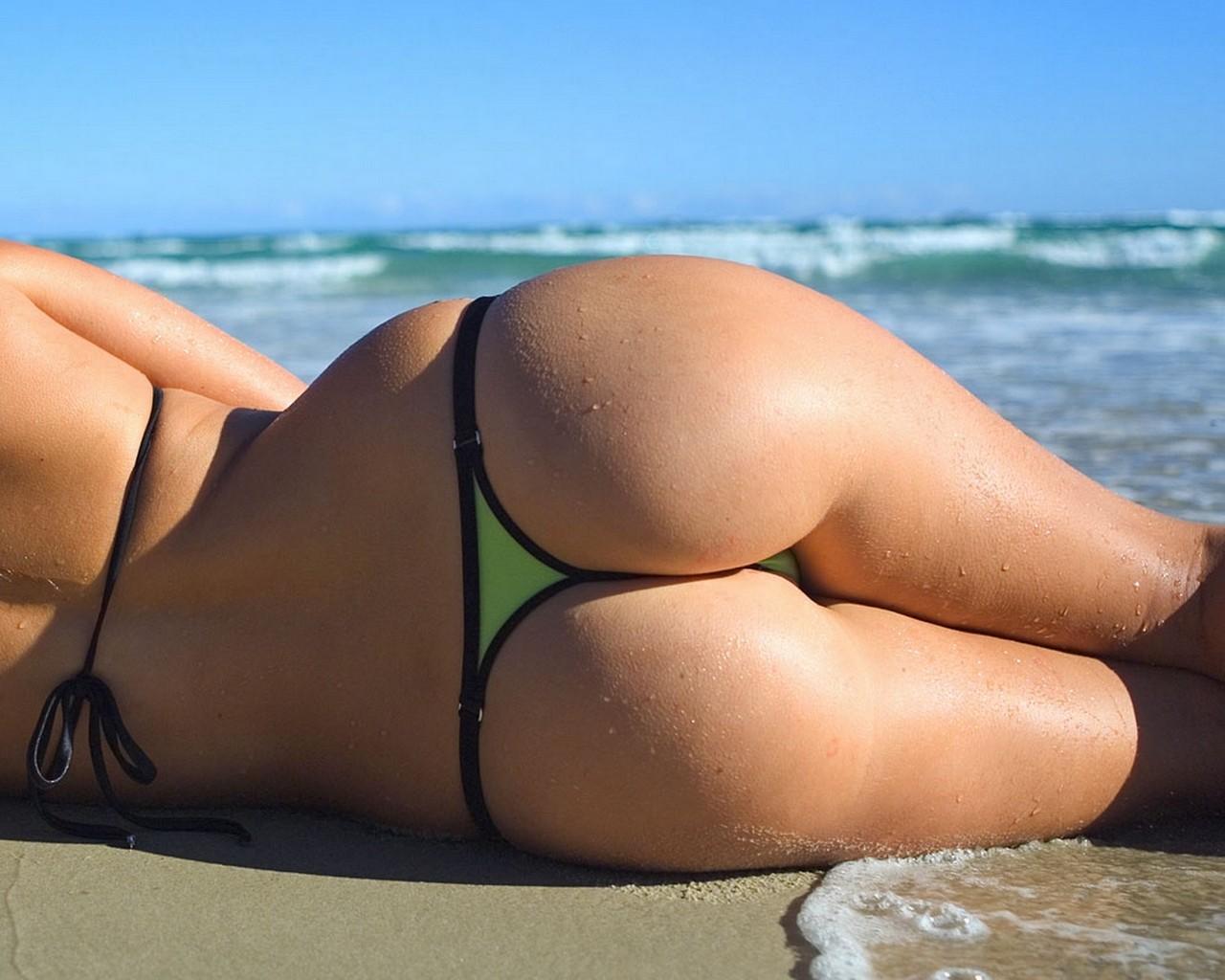 фото девушек на пляже крупно - 4