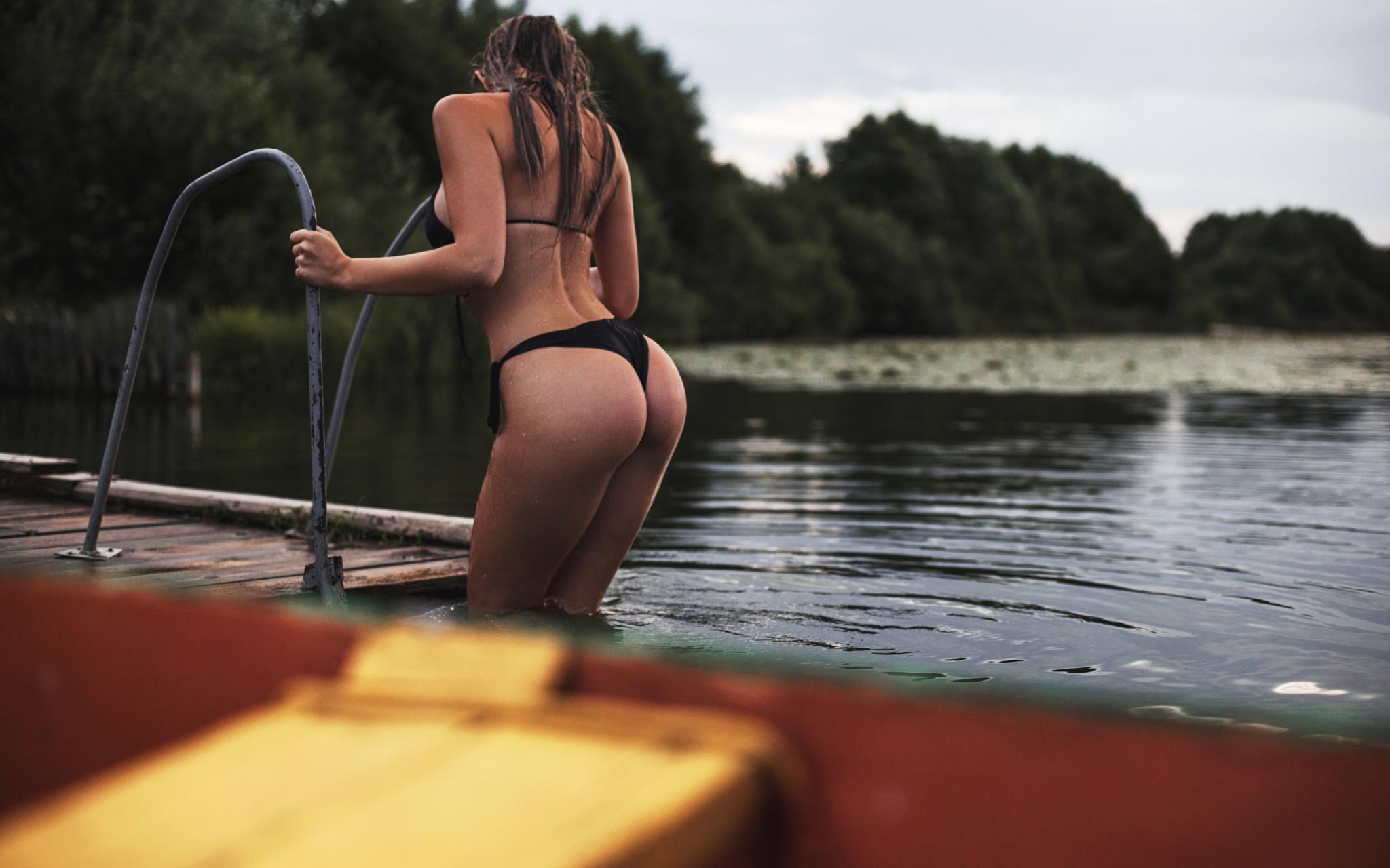wet ass panties