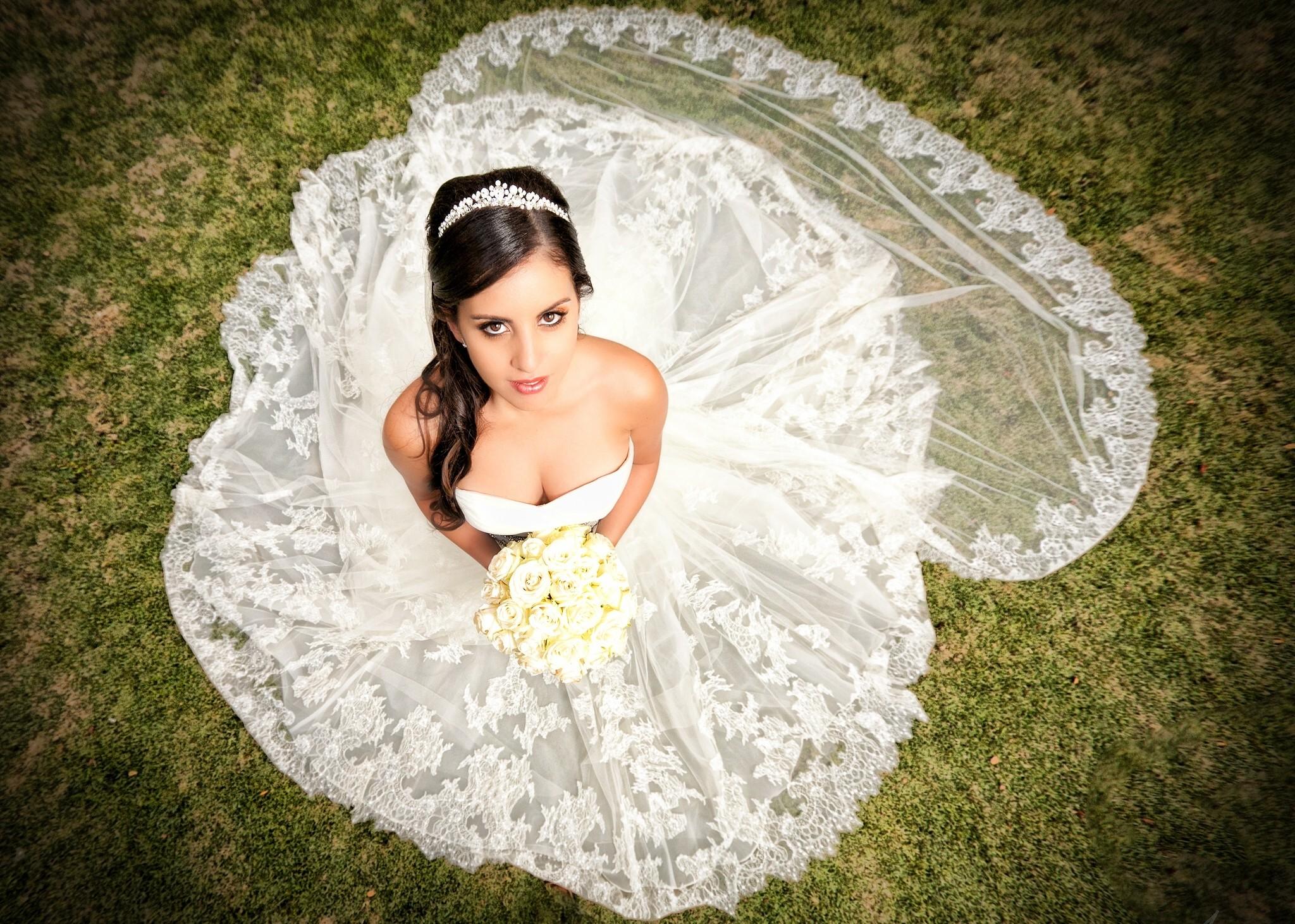 Картинки с красивыми невестами