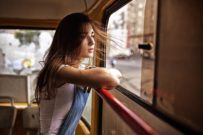 наших красивые девушки в автобусе фото действительно была